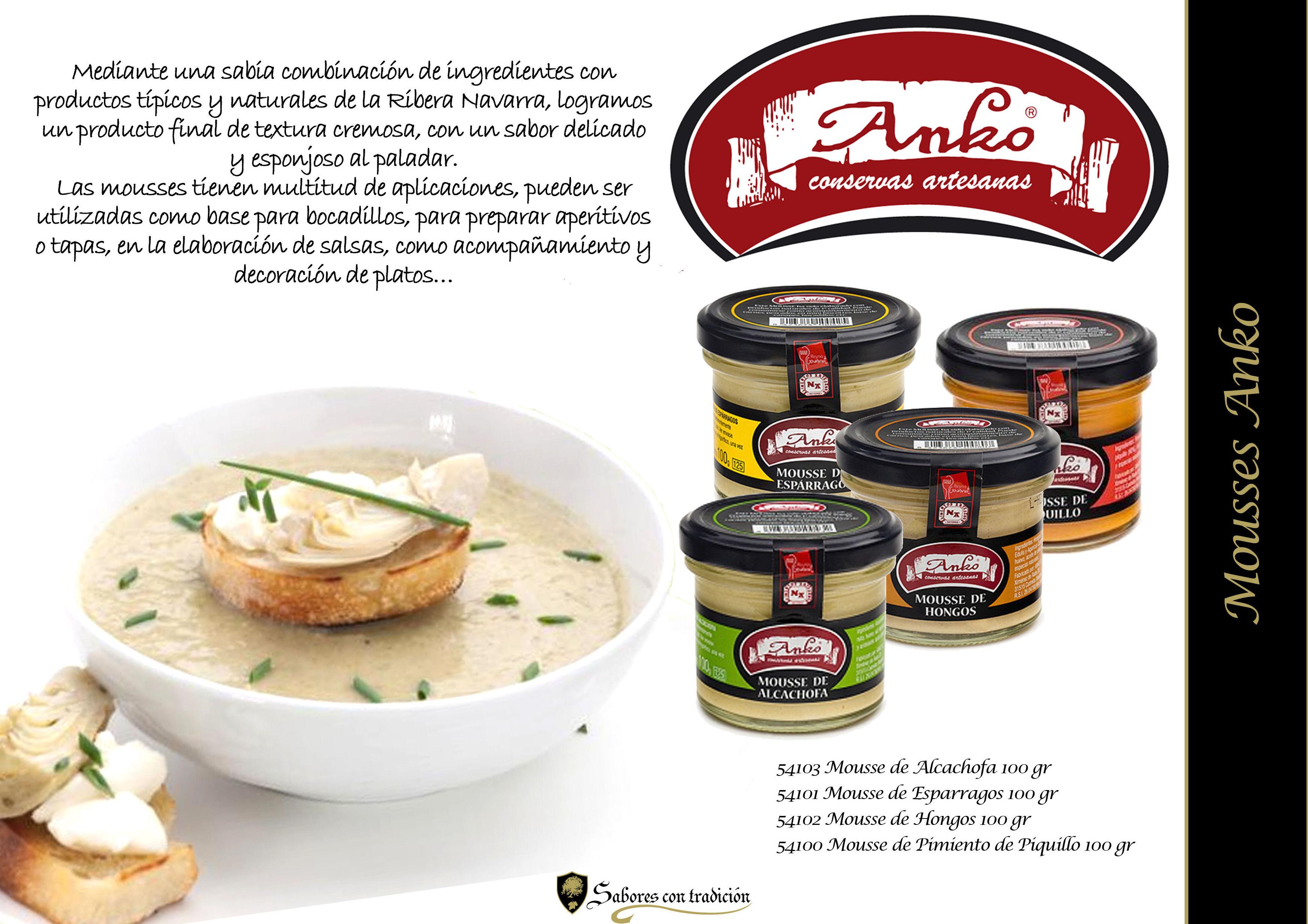 """Mousses """" Anko """": Productos de Sabores con tradición"""