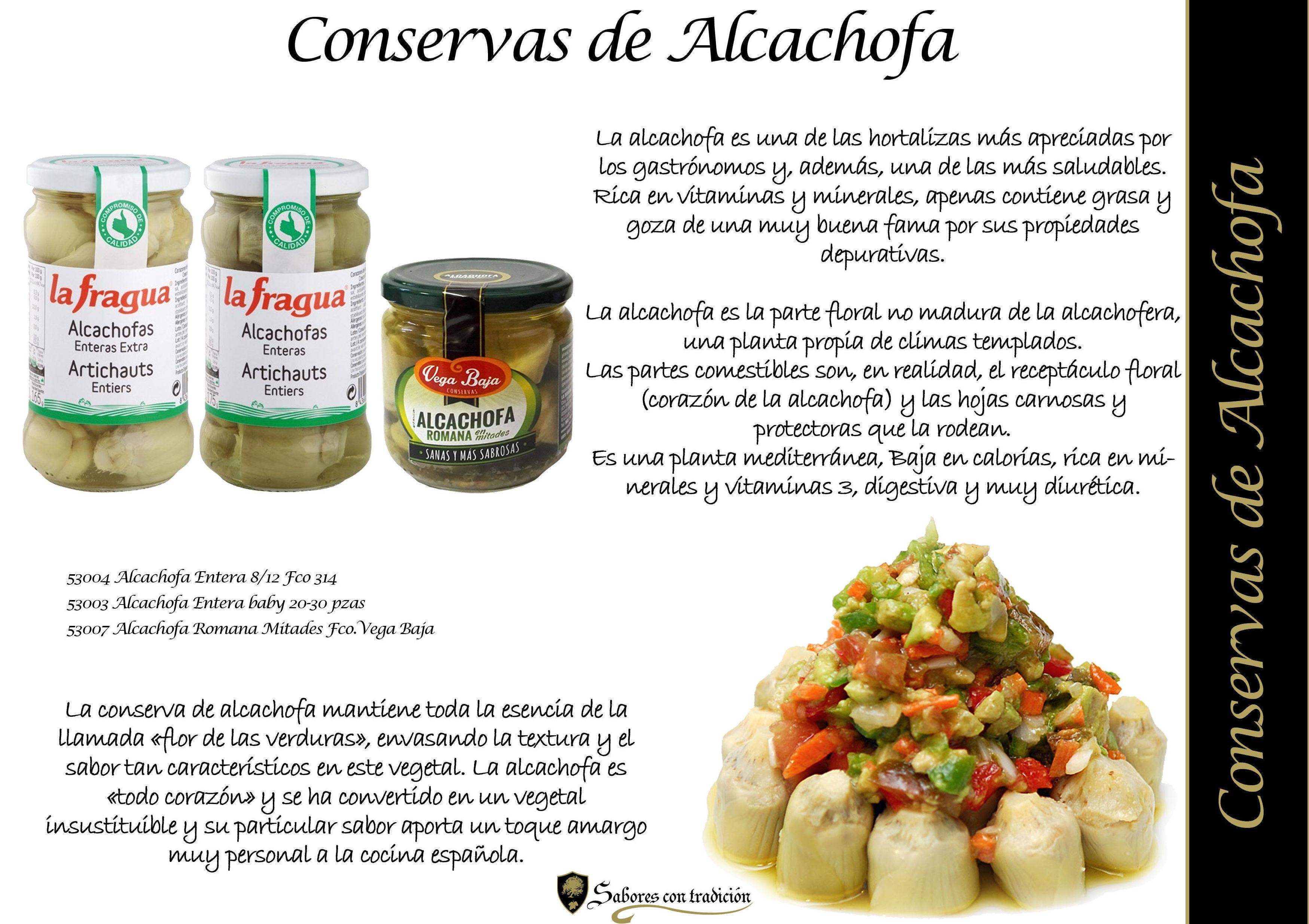 Alcachofas: Productos de Sabores con tradición