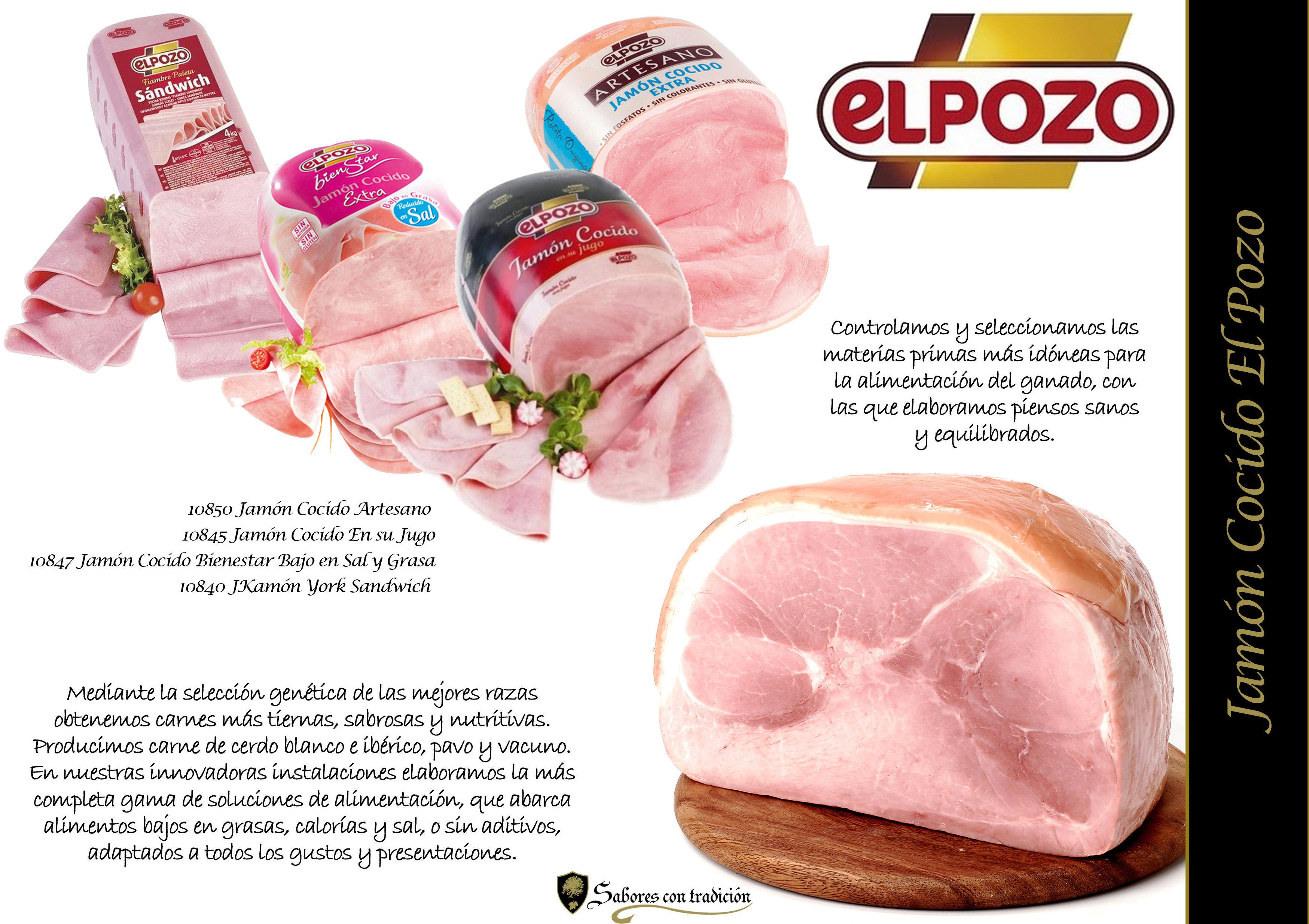 "Jamón Codico "" ElPozo """