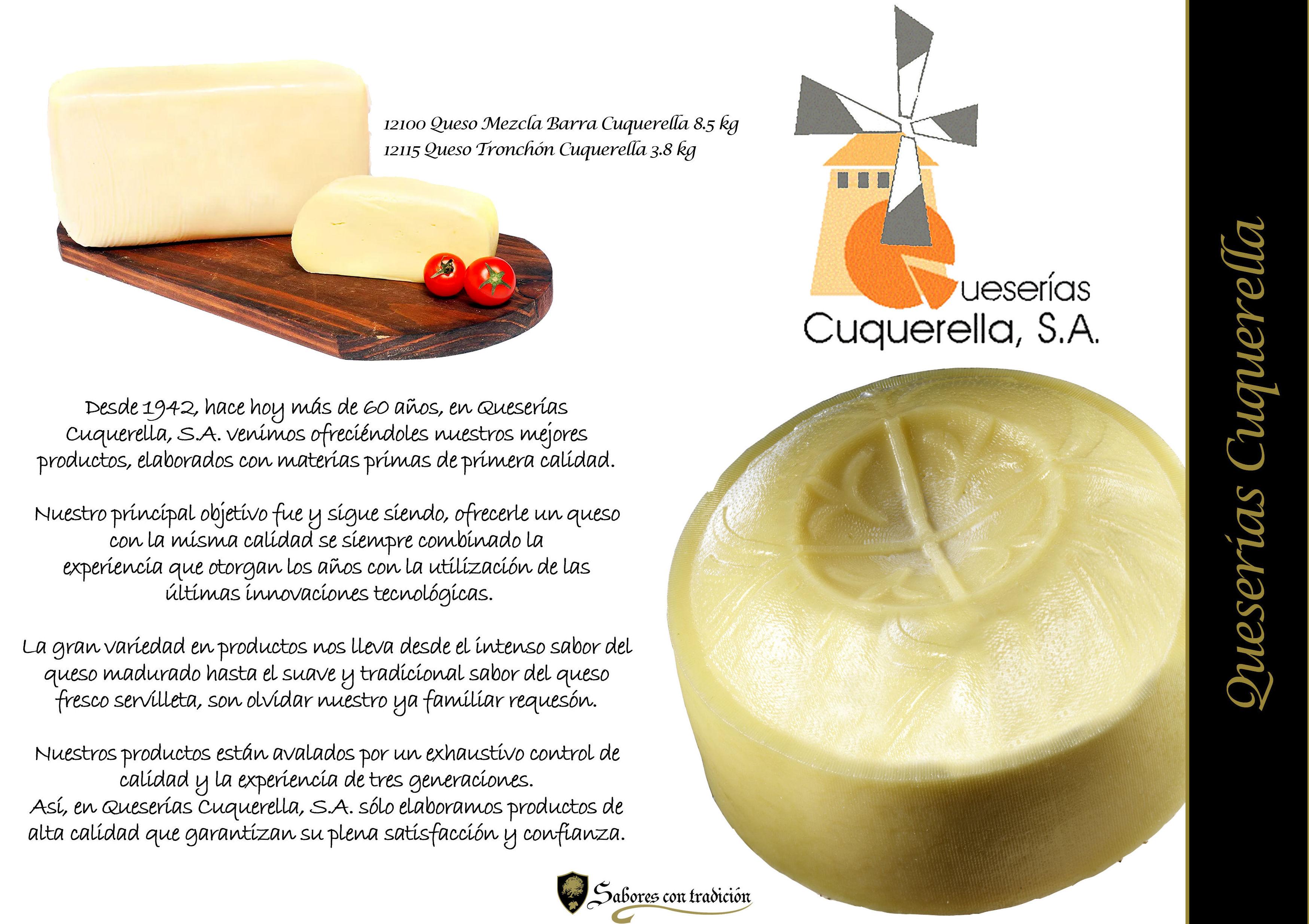 "Quesos "" Queseria Cuquerella "": Productos de Sabores con tradición"