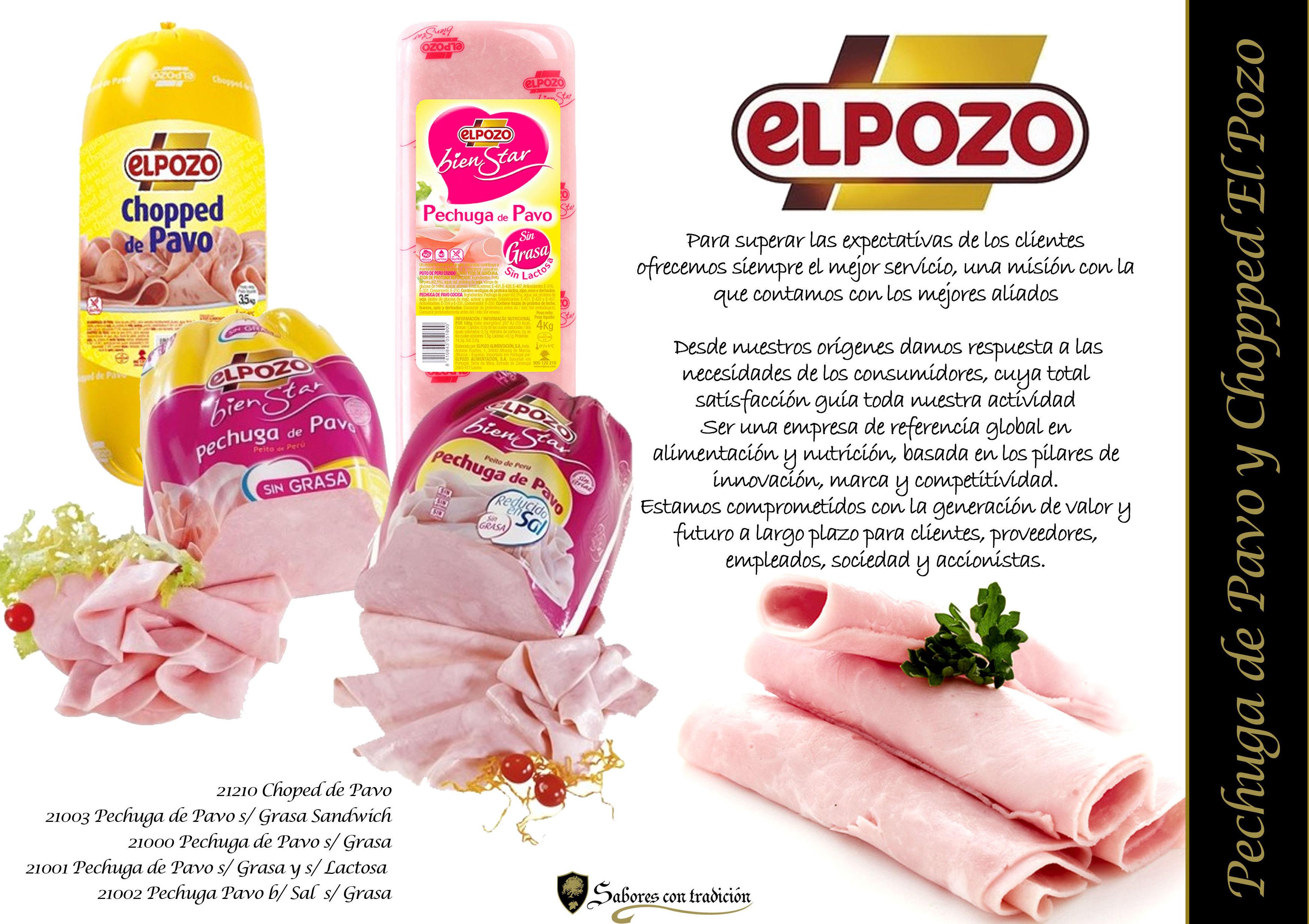 """Pechuga de Pavo y Choped """" ElPozo """""""