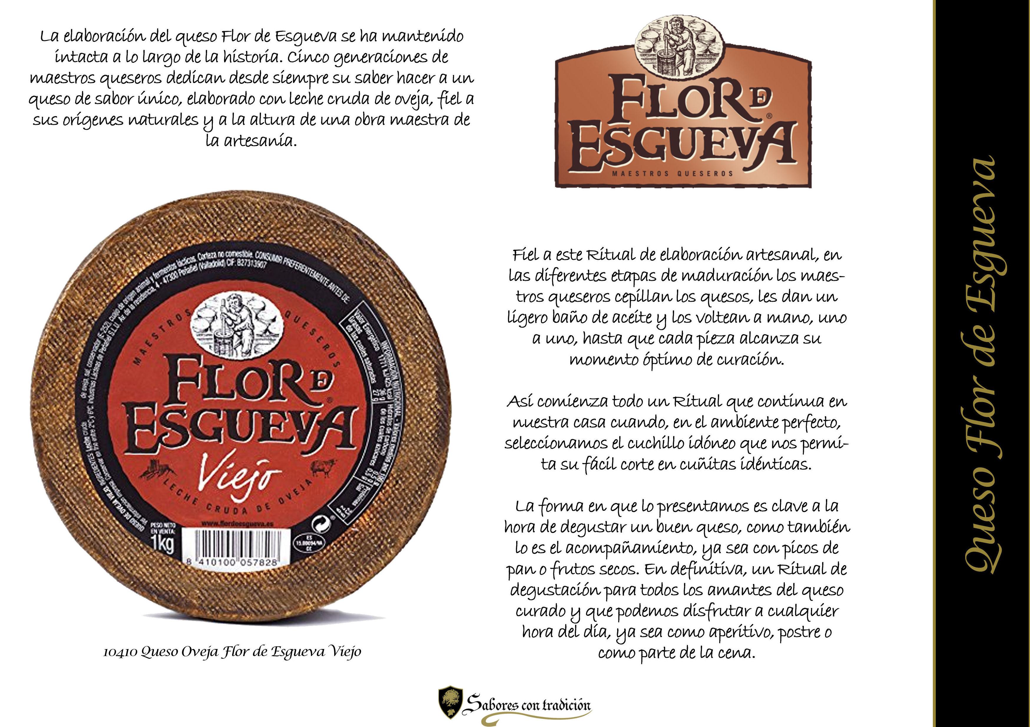 """Queso """" Flor de Esgueva """": Productos de Sabores con tradición"""