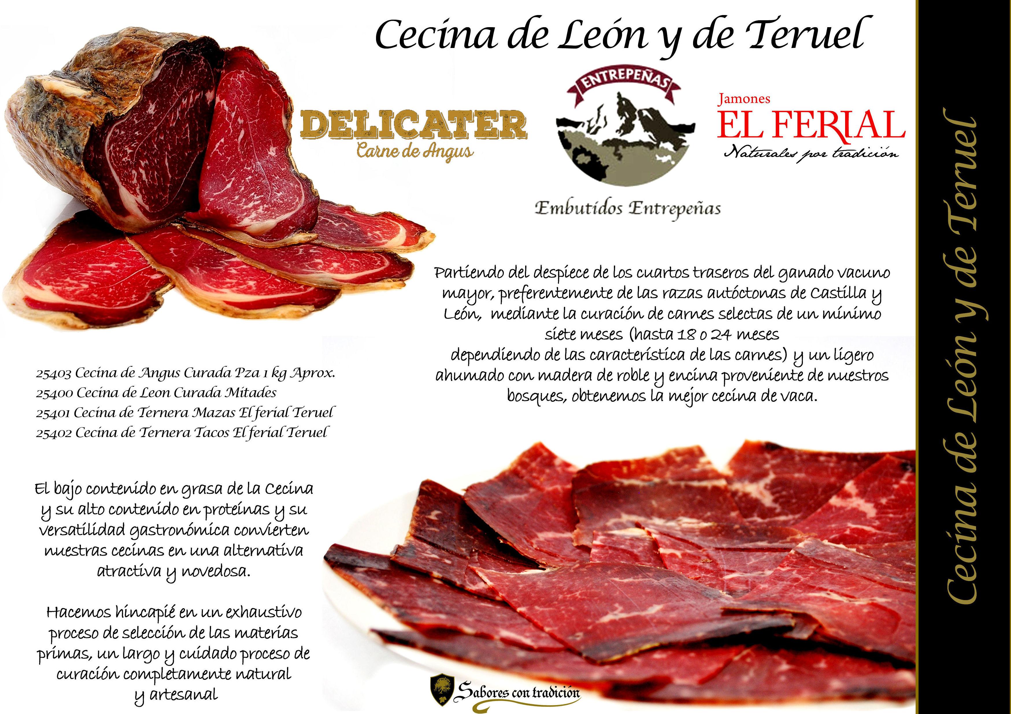 Cecina: Productos de Sabores con tradición