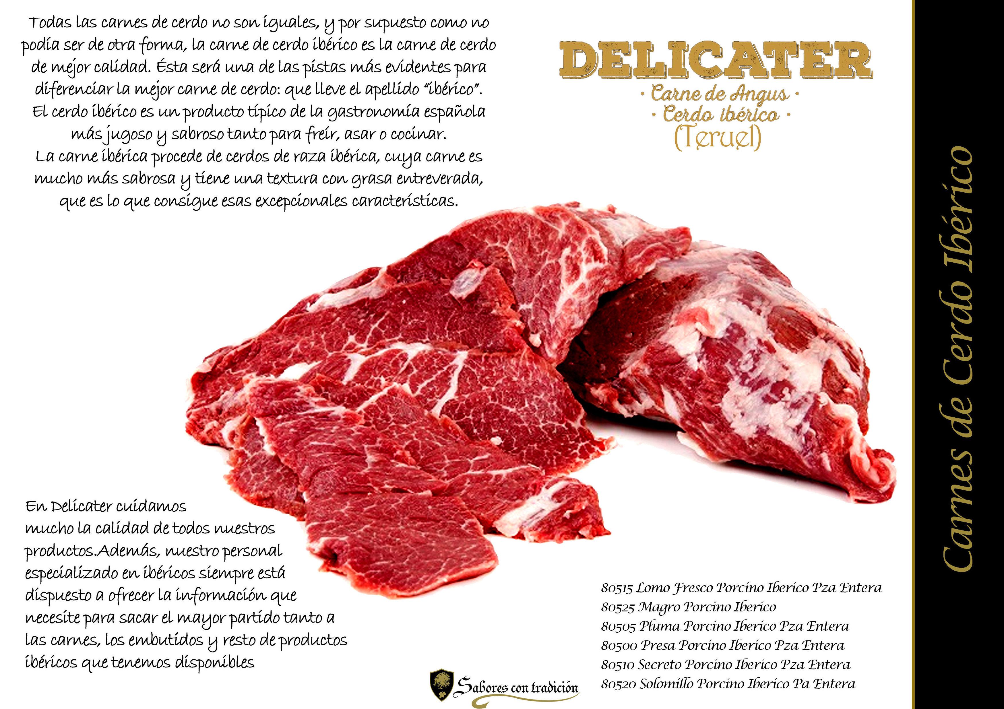 Carne de Cerdo Iberico: Productos de Sabores con tradición