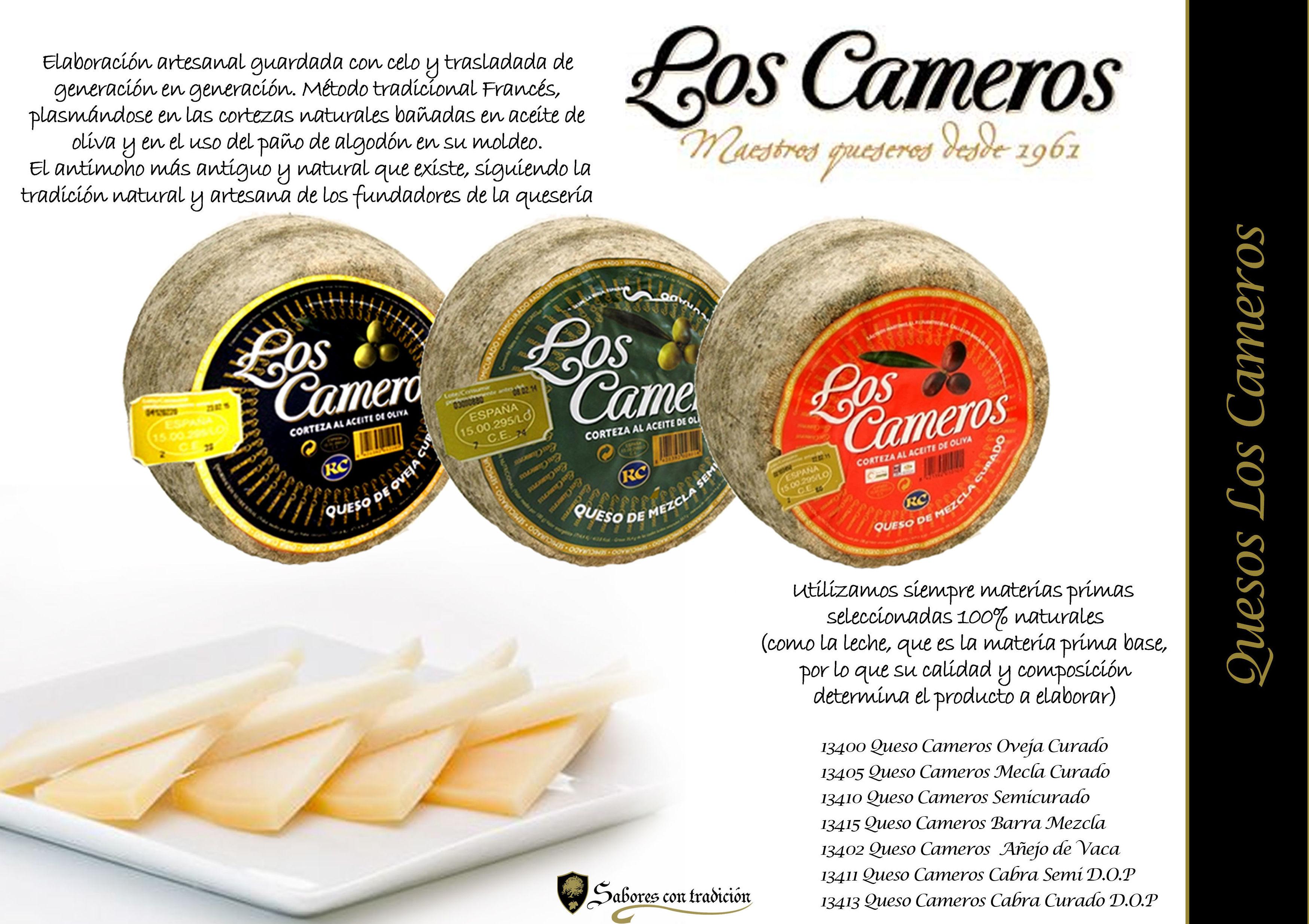"""Quesos """" Los Cameros """": Productos de Sabores con tradición"""