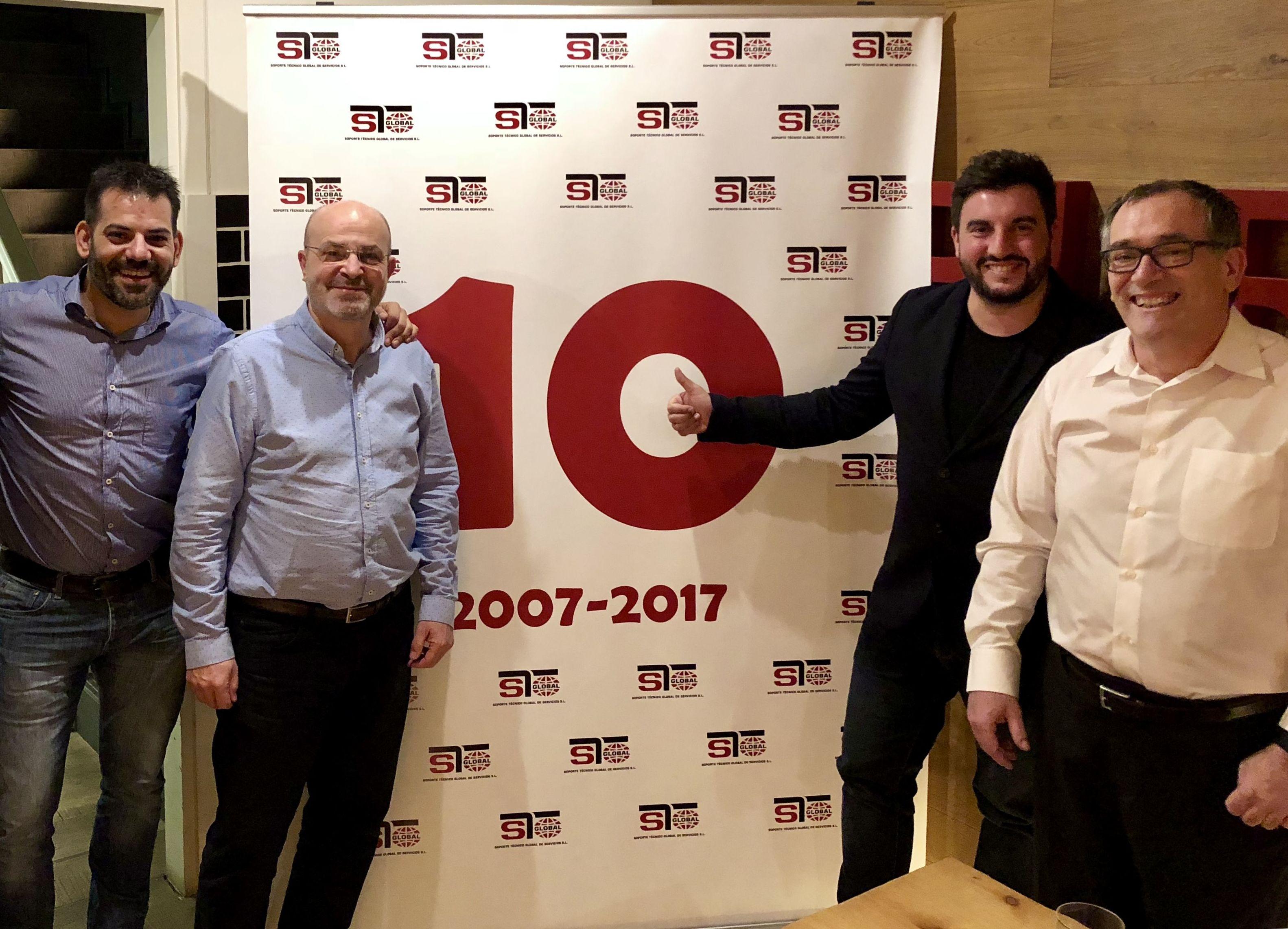 STGlobal 10º Aniversario