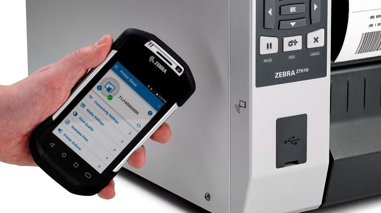 Zebra Link-OS NFC System