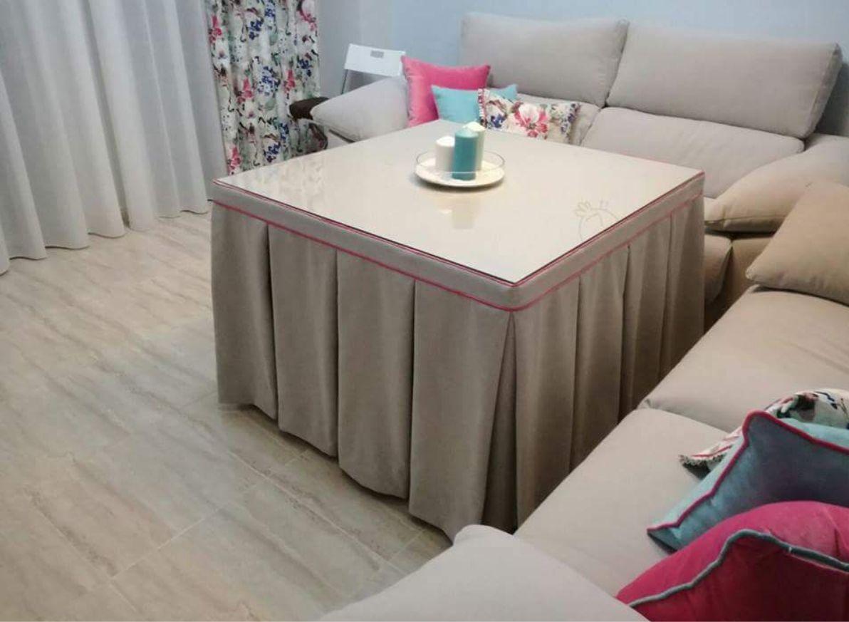 Faldas mesa camilla: Textil hogar de Cortinas Bámbola
