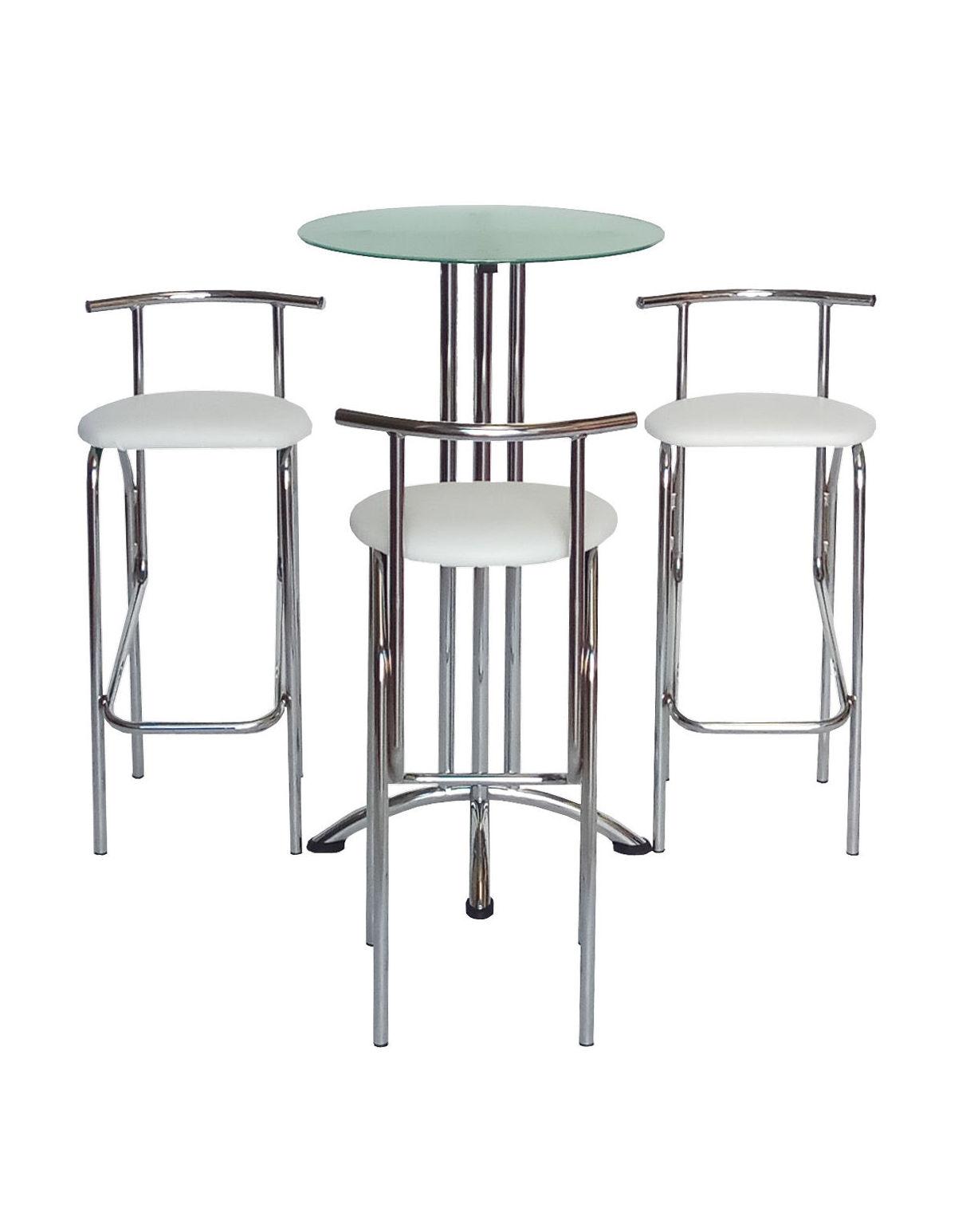 Mesda alta de cristal ordesa alquiler de mobiliario de for Alquiler de mobiliario de oficina