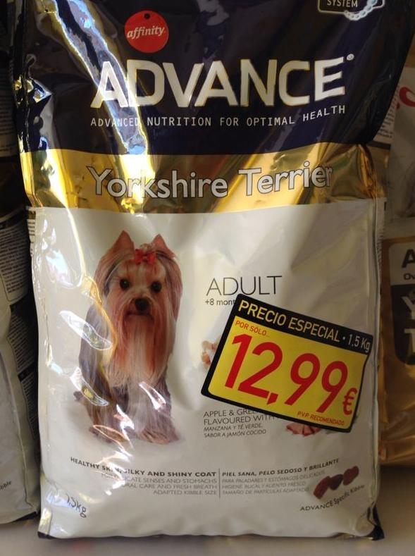 Advance Yorkshire adulto 1,5 Kg.