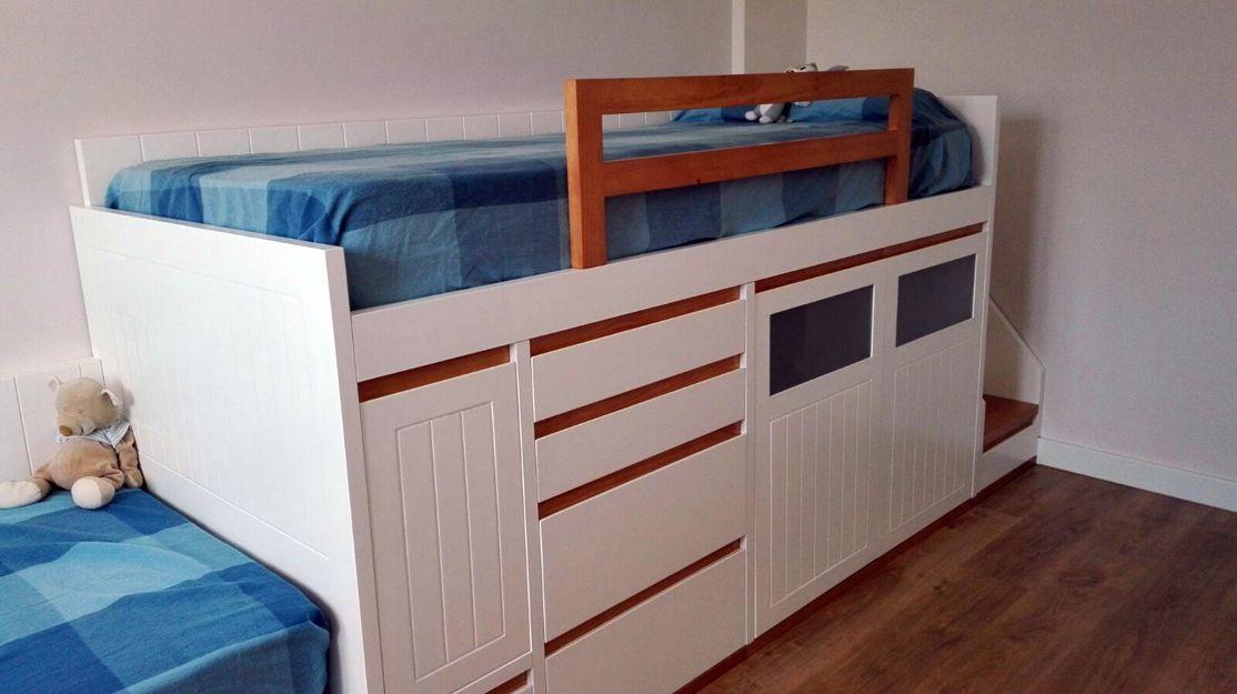 Dormitorio juvenil de madera en Soria