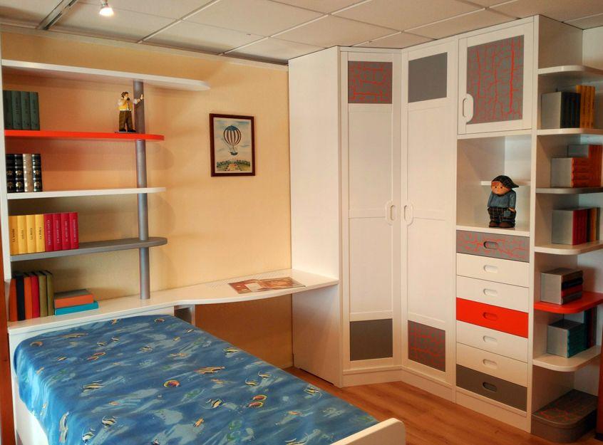 Dormitorio juvenil a medida en Soria