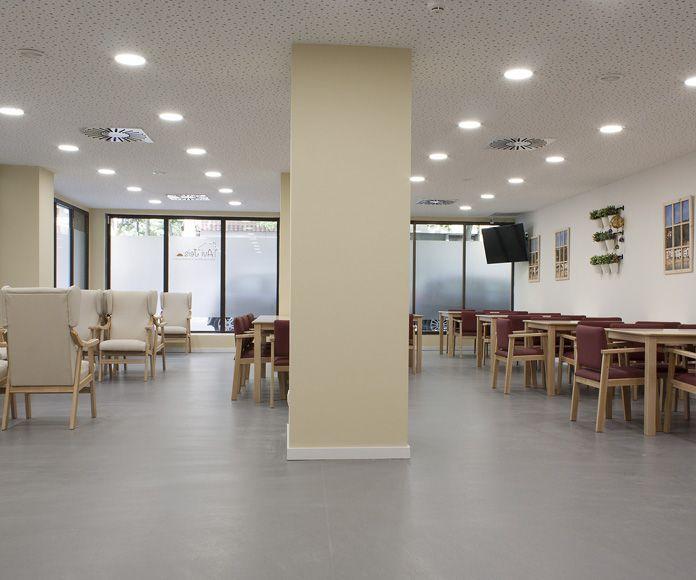 Servicios asistenciales: Servicios de Avi Jeis Centro de dia para personas mayores