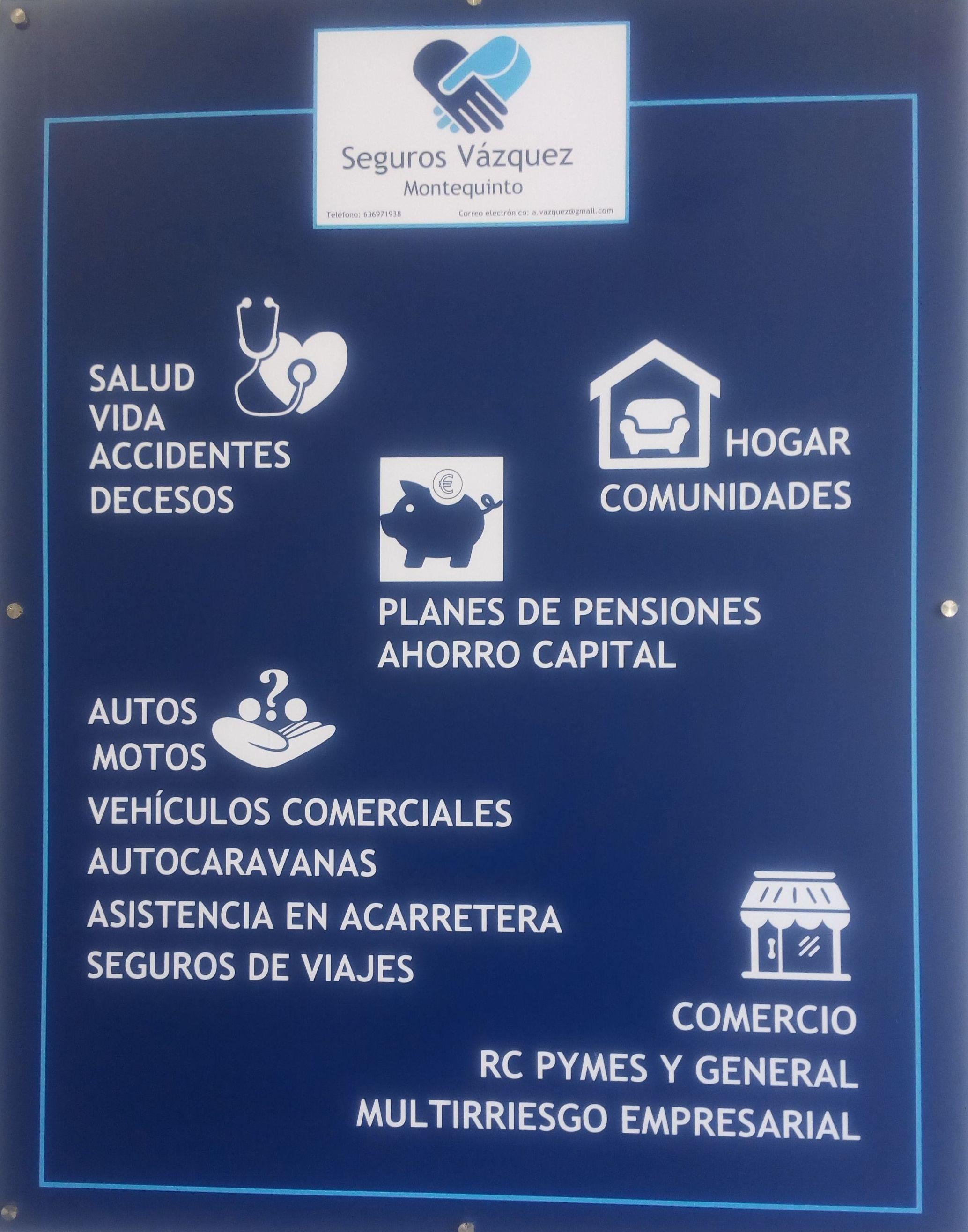 Foto 9 de Asesoría y correduría de seguros en  | Seguros Vázquez Montequinto