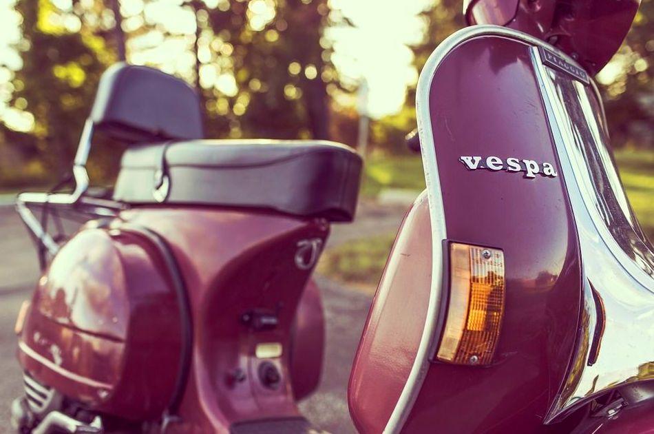 Vespa en Vilassar de Dalt