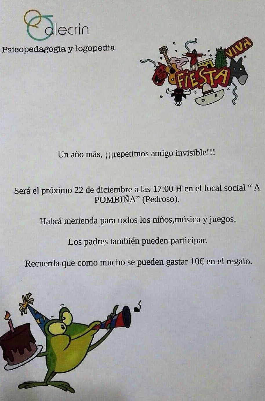 ¡VUELVE EL AMIGO INVISIBLE!