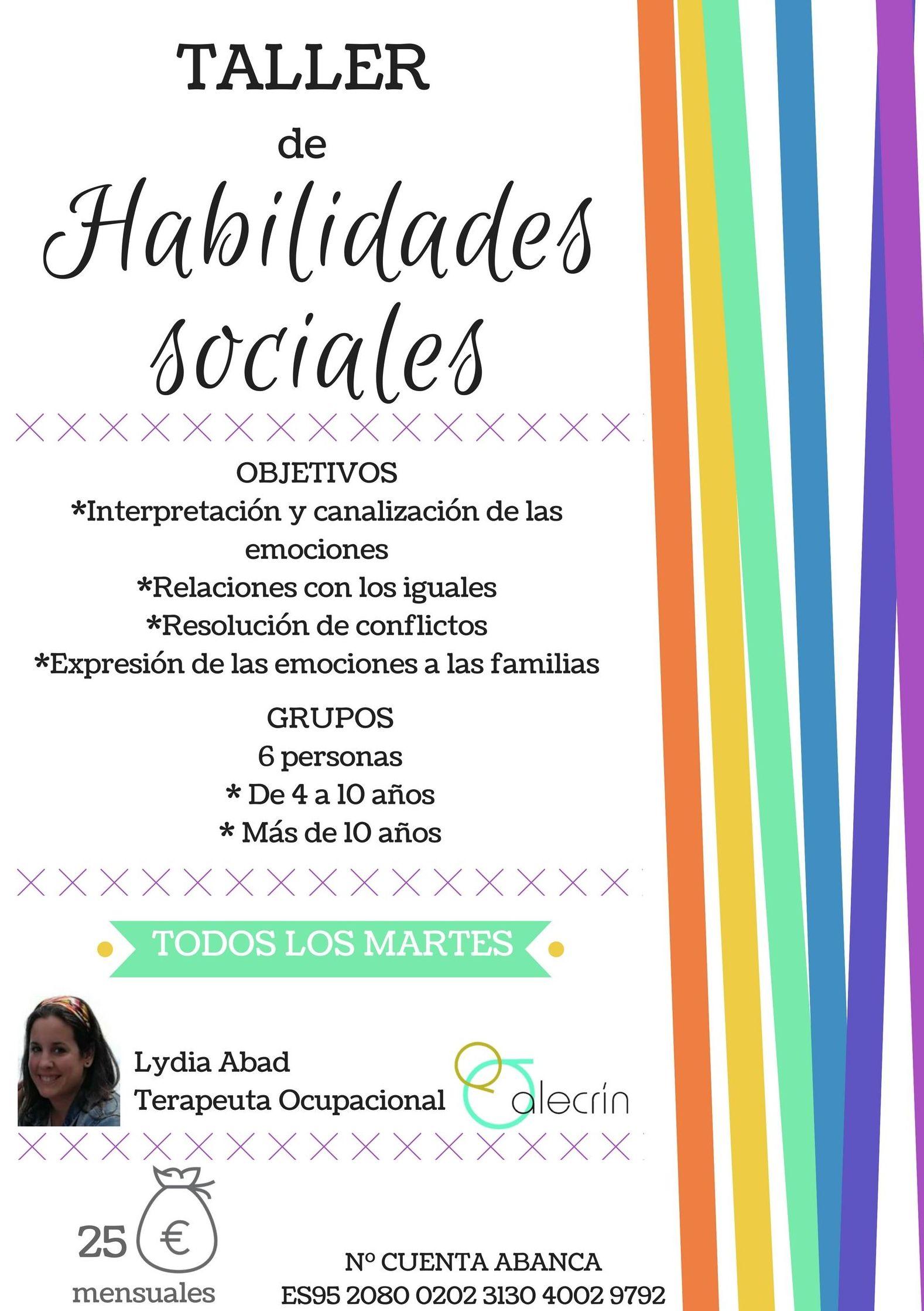¡Taller de Habilidades Sociales!