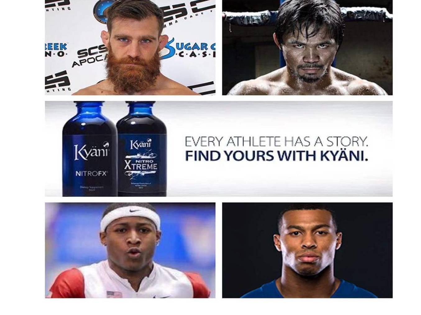 Suplementos Kyani deportistas de élite