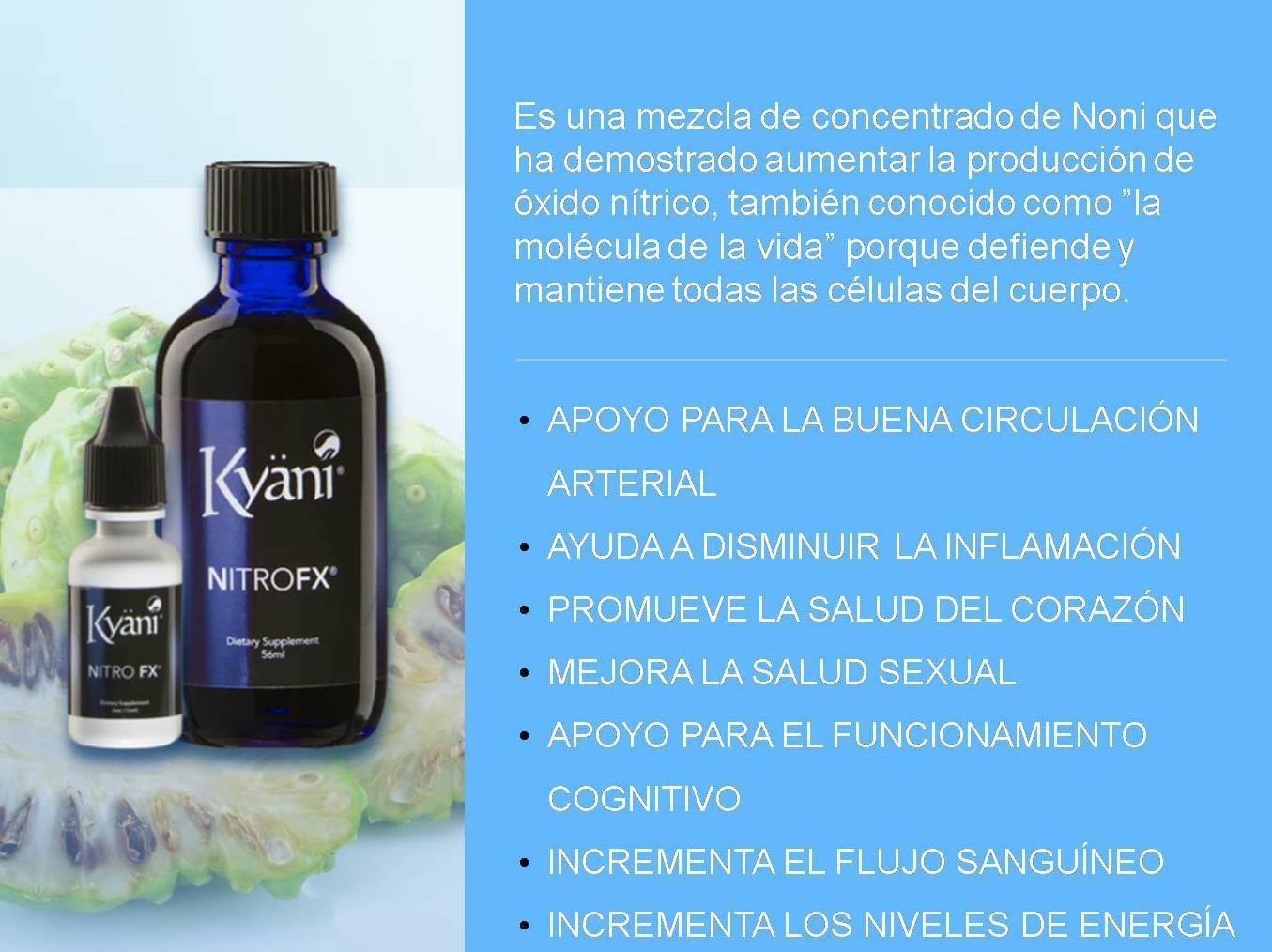 Suplementos Kyani NITRO FX