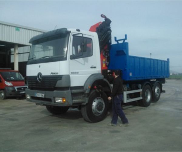 Transporte de mercancías en Guipúzcoa