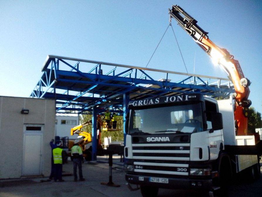 Alquiler de camiones grúa enLeon
