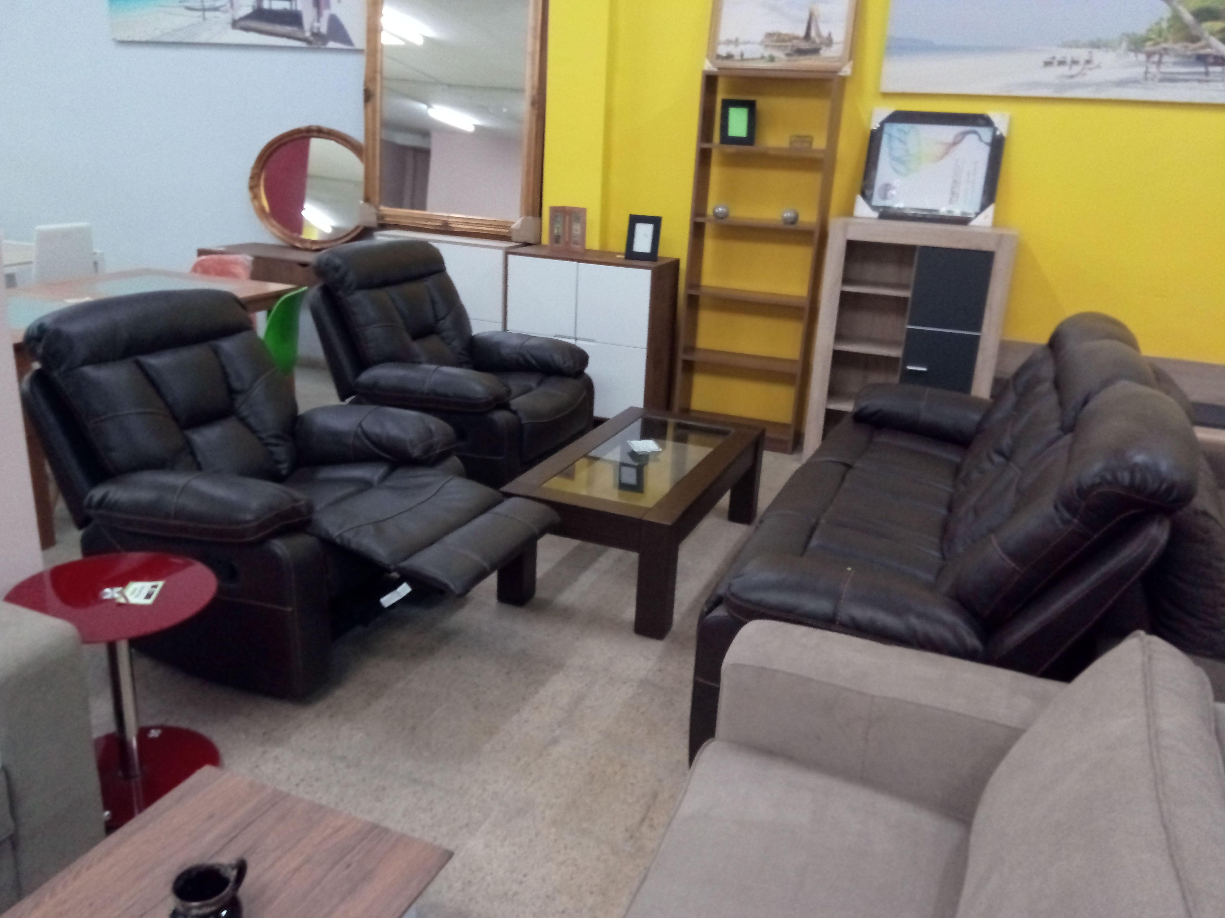 Sofas declinable en negro beich rojo y marrones en 3+1+1  y 3+2+1