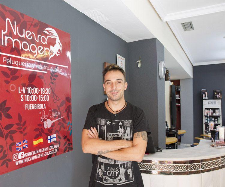 Peluquería Nueva Imagen Leo Blasco en Fuengirola