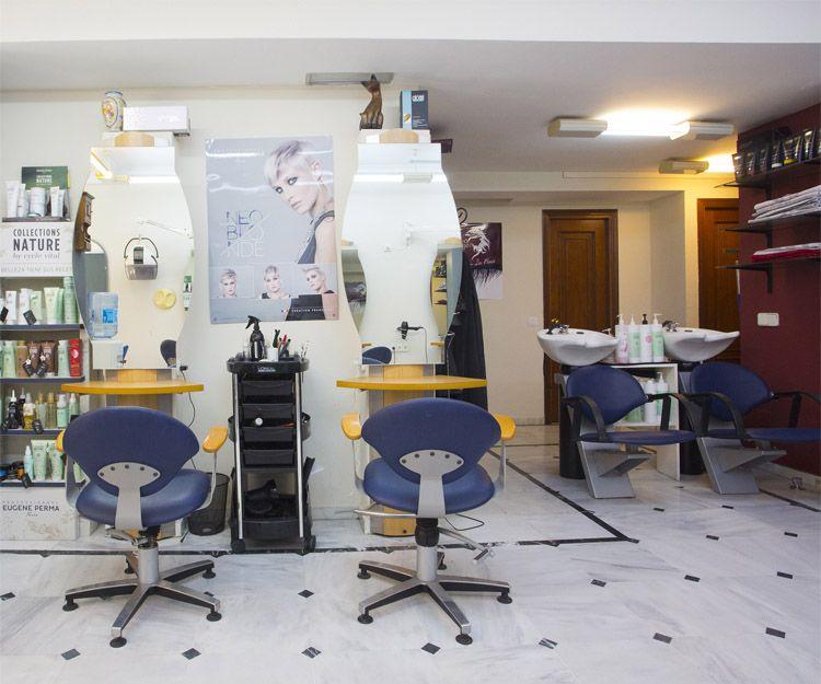 Interior de nuestra peluquería en Fuengirola
