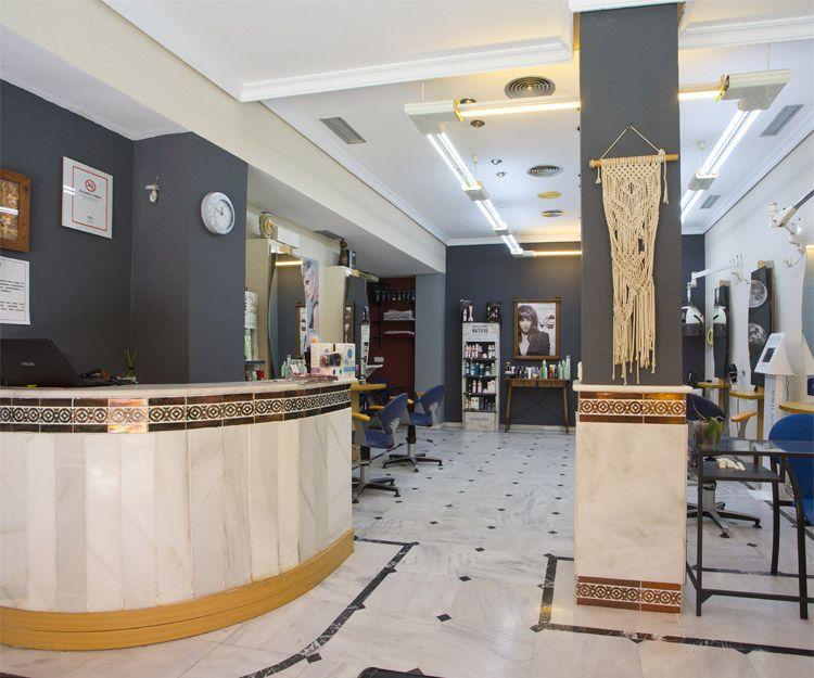 Recepción de nuestra peluquería en Fuengirola