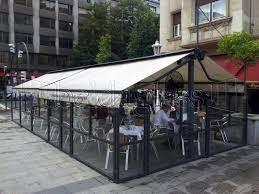 Cortavientos para terrazas y restaurantes: Productos de Cortinas de Cristal Málaga