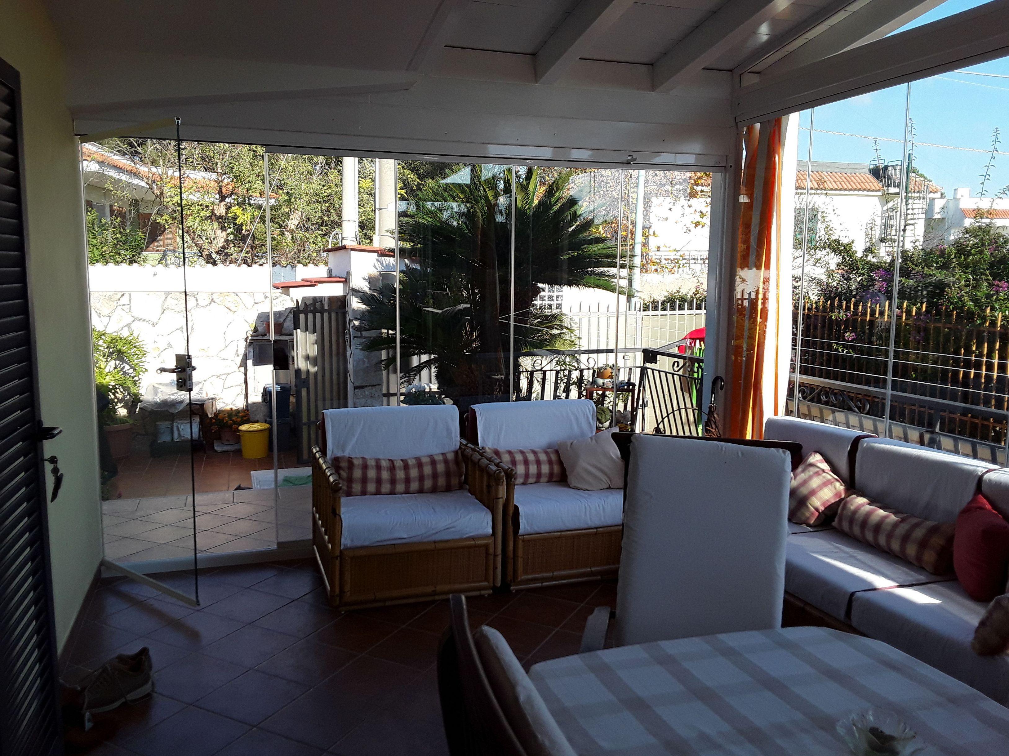 Especialistas en cortinas de cristal en Málaga