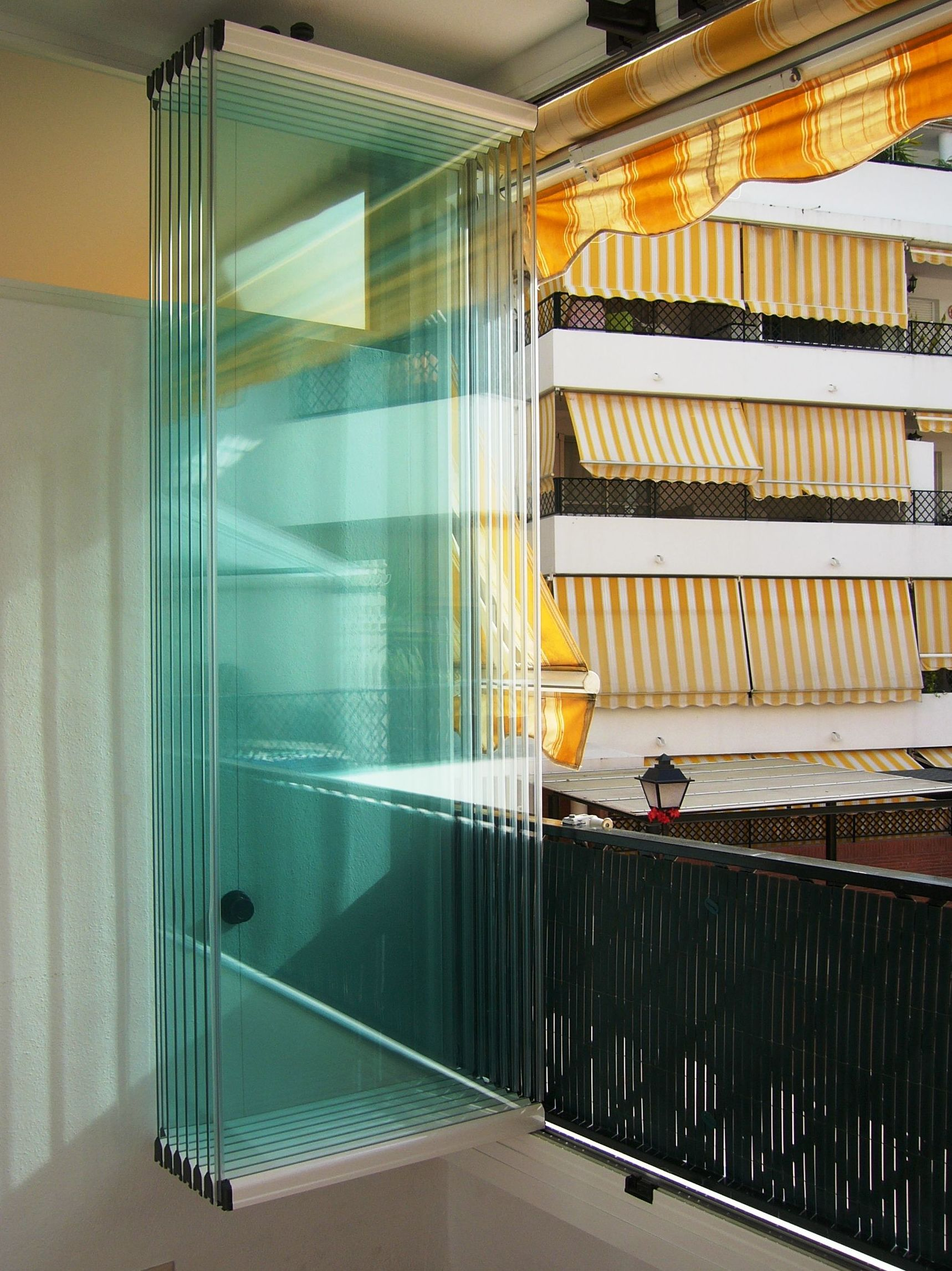 Cortina de cristal de peso abajo: Productos de Cortinas de Cristal Málaga