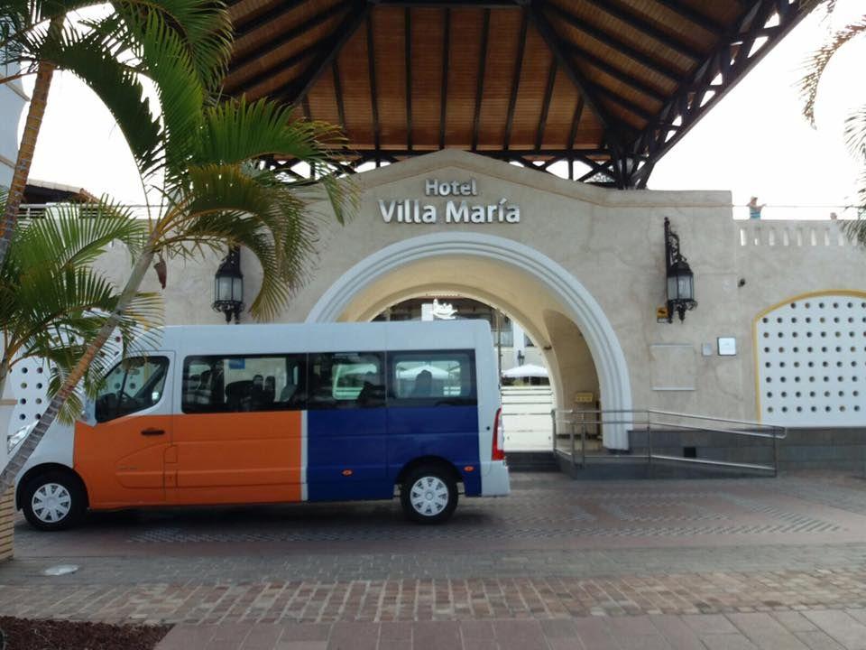 Alquiler de autobuses para excursiones Santa Cruz de Tenerife