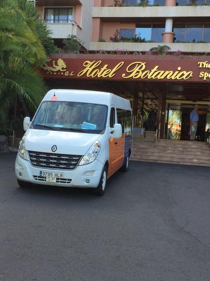 Alquiler minibus Santa Cruz de Tenerife