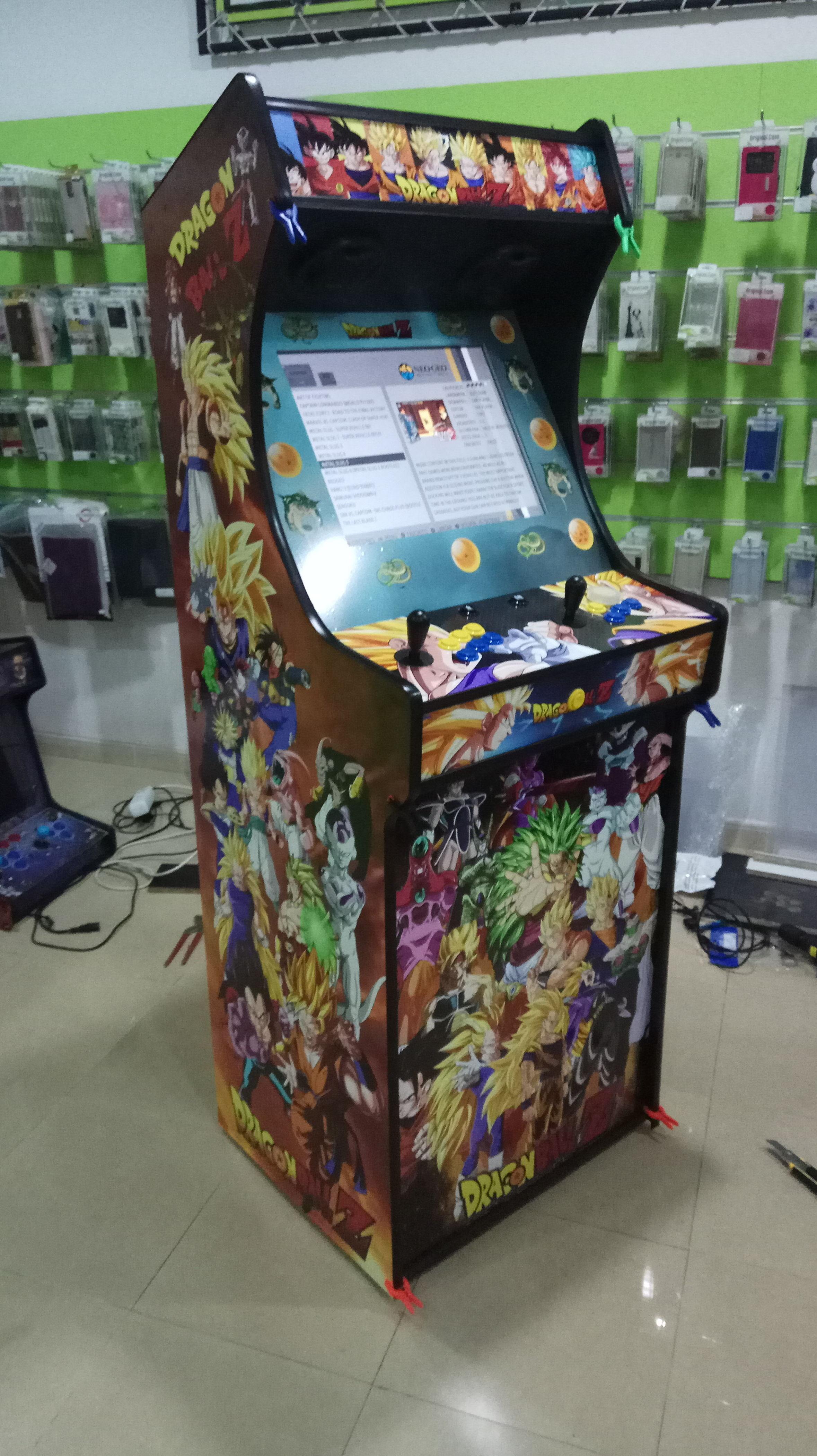 Especialistas en máquinas arcade, consolas arcade y máquinas bartop arcade