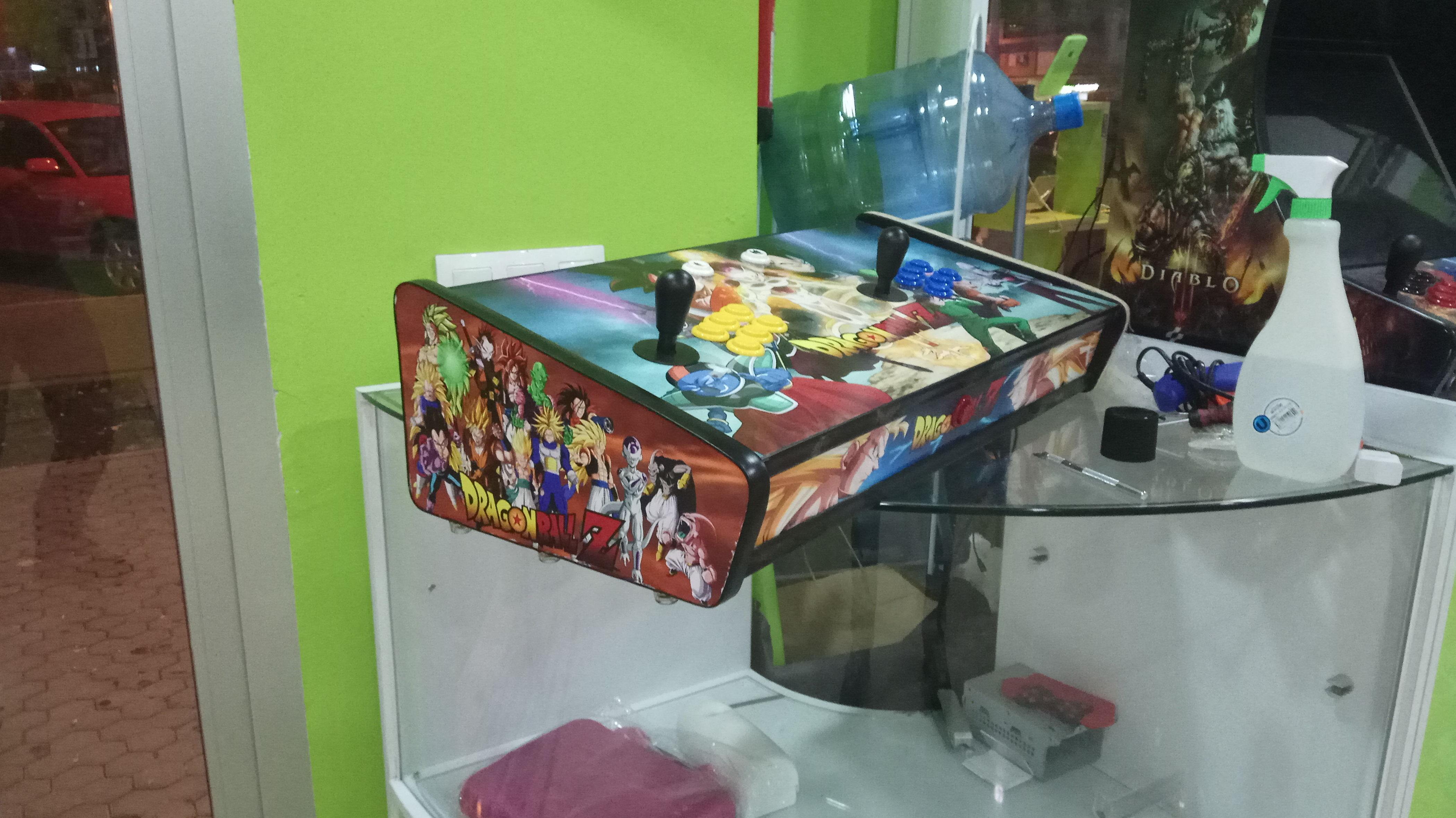 Especialistas en reparación de consolas arcade