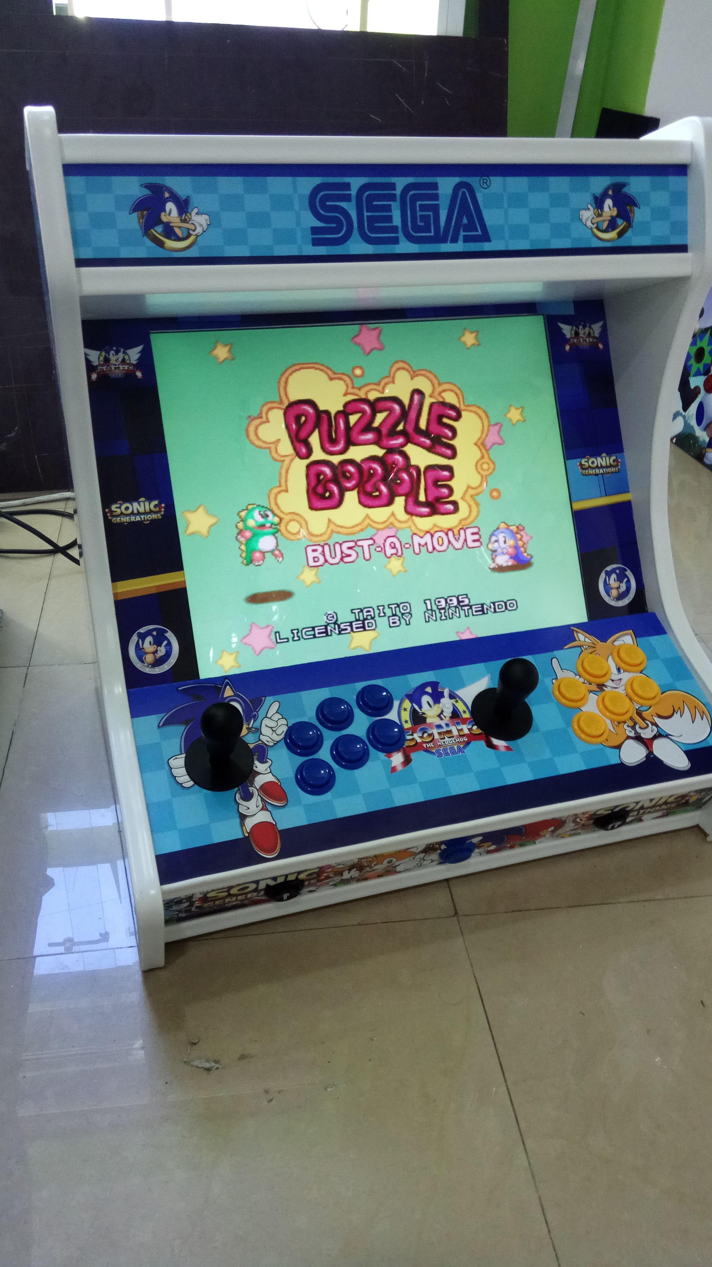 Reparación de máquinas bartop arcade