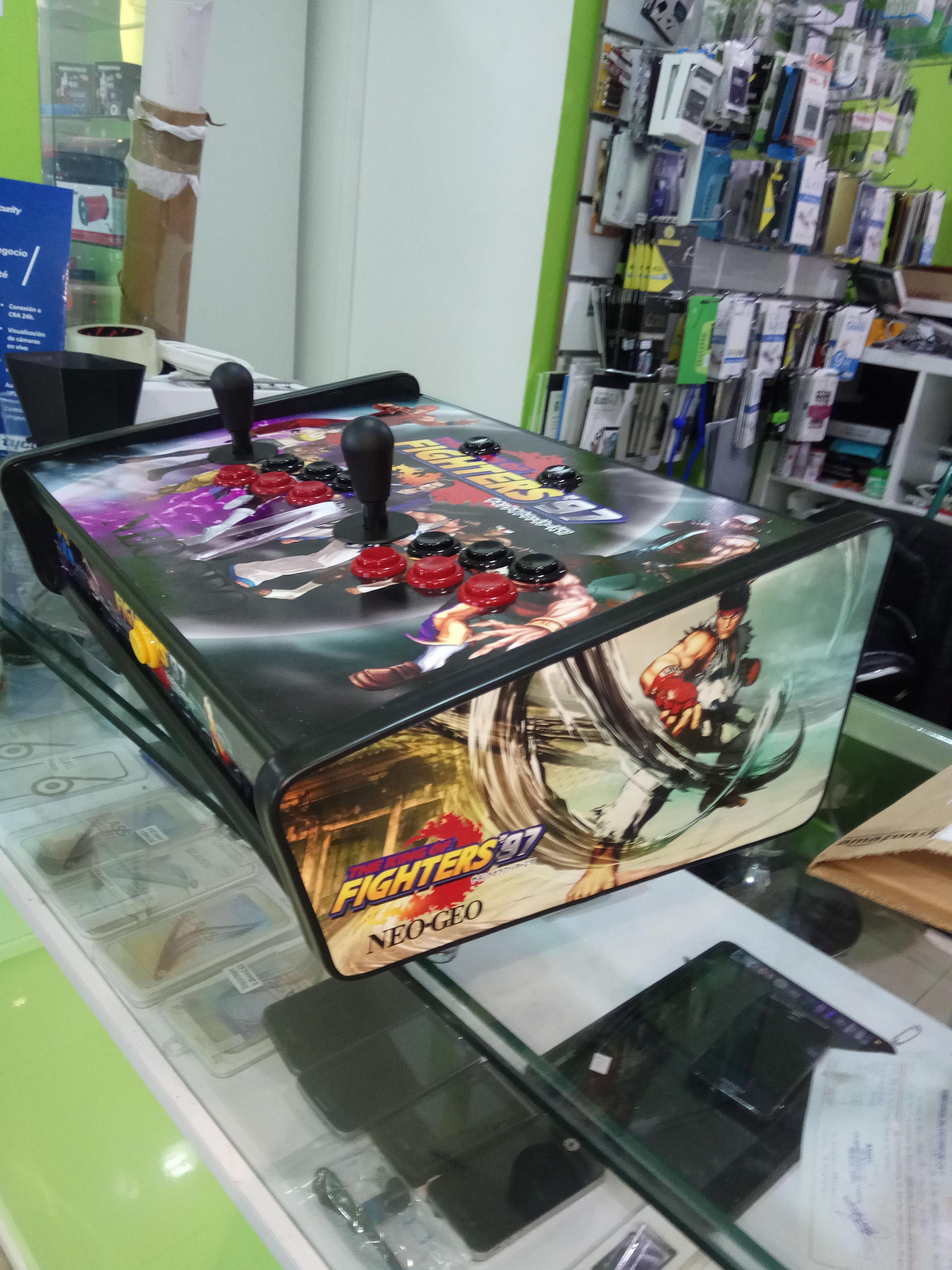 Venta y reparación de consolas arcade
