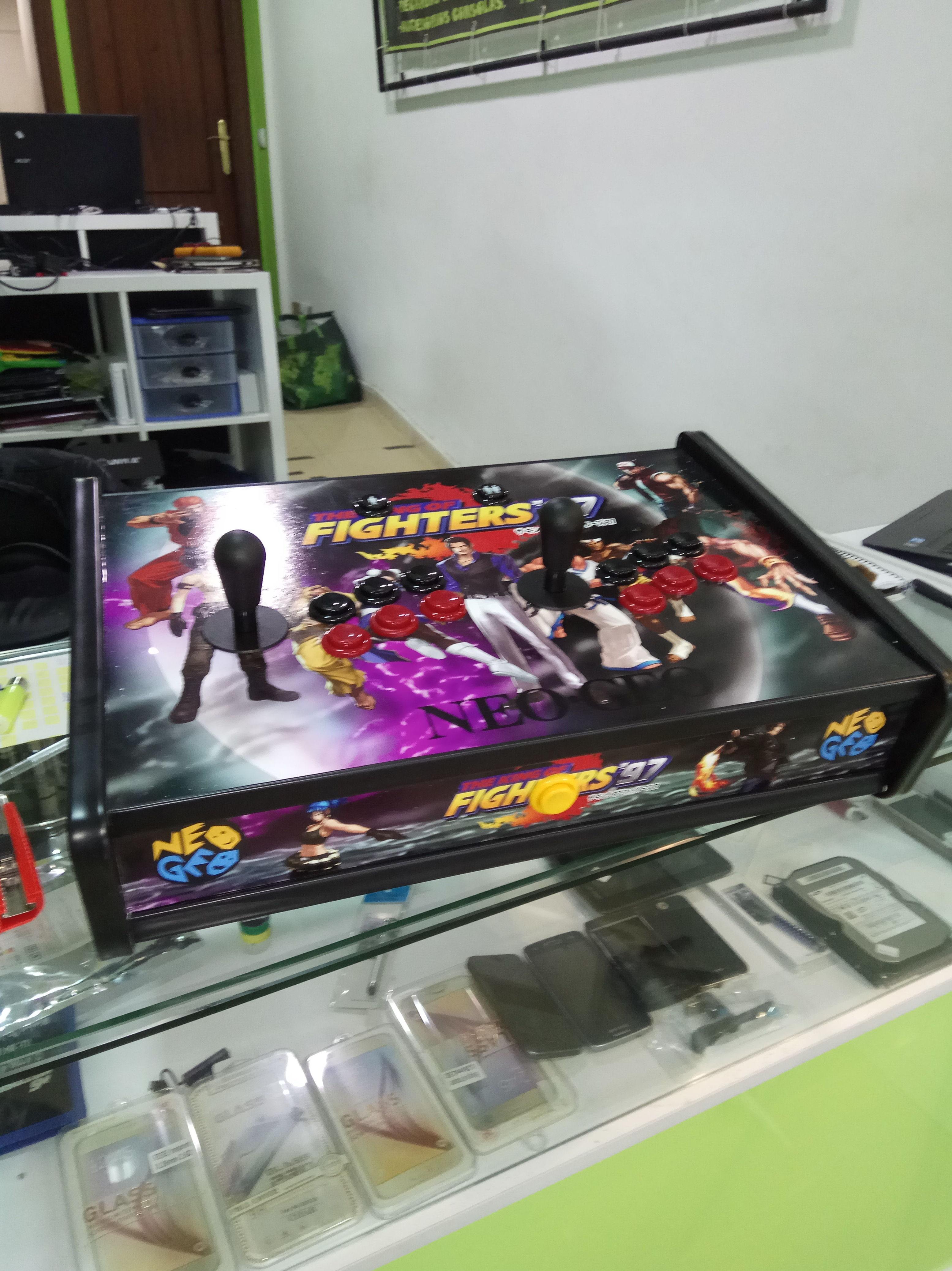 Reparación de consolas arcade