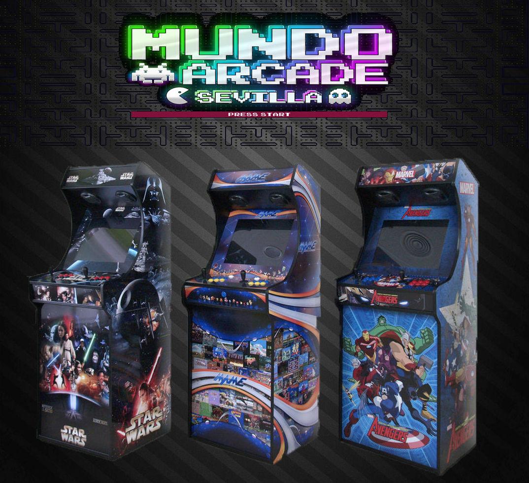 Foto 12 de Fabricación personalizada de máquinas Arcade en Sevilla | Mundo Arcade Sevilla