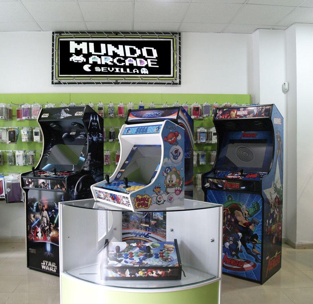 Mundo Arcade en Sevilla
