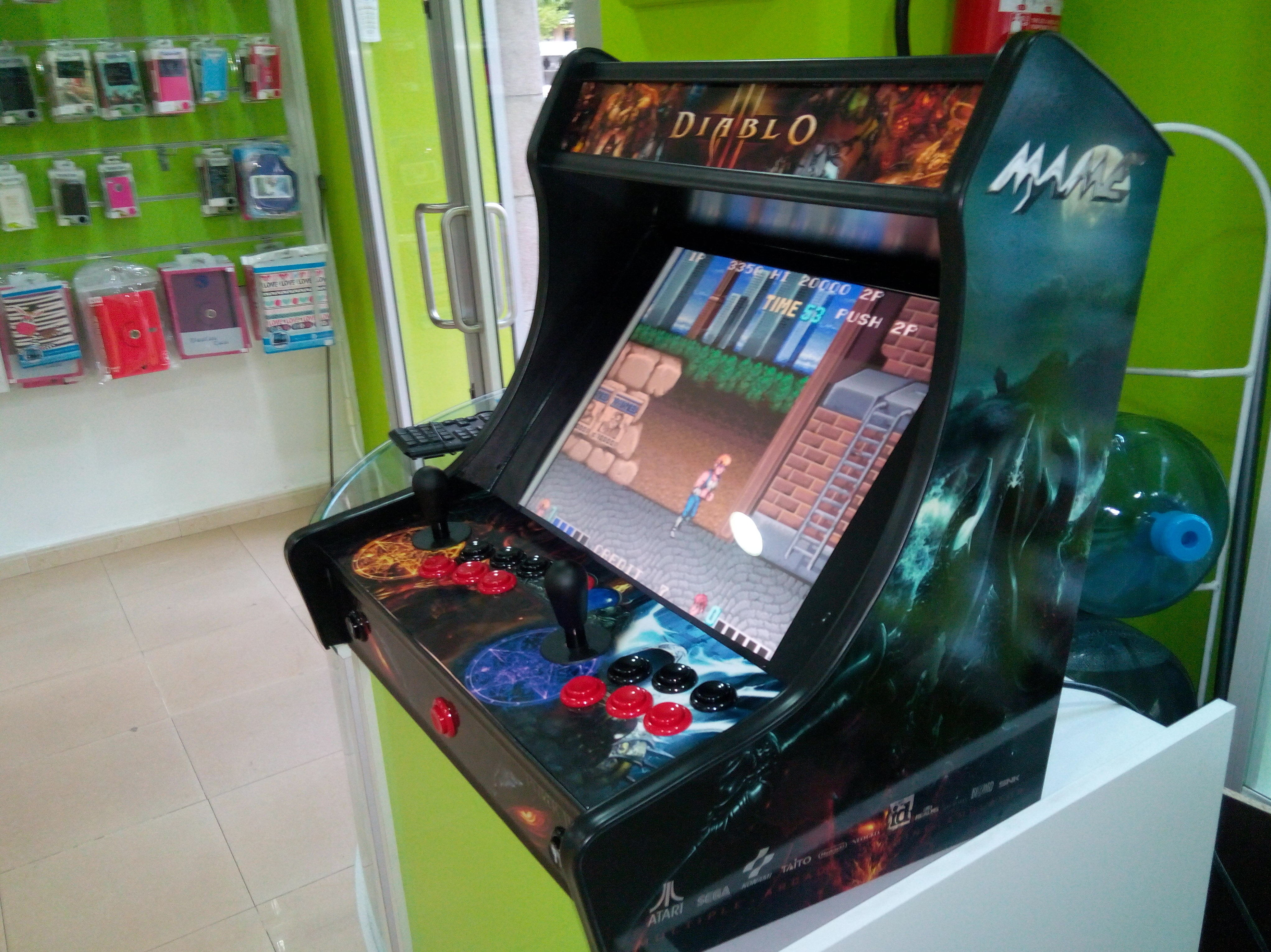 Especialistas en máquinas arcade