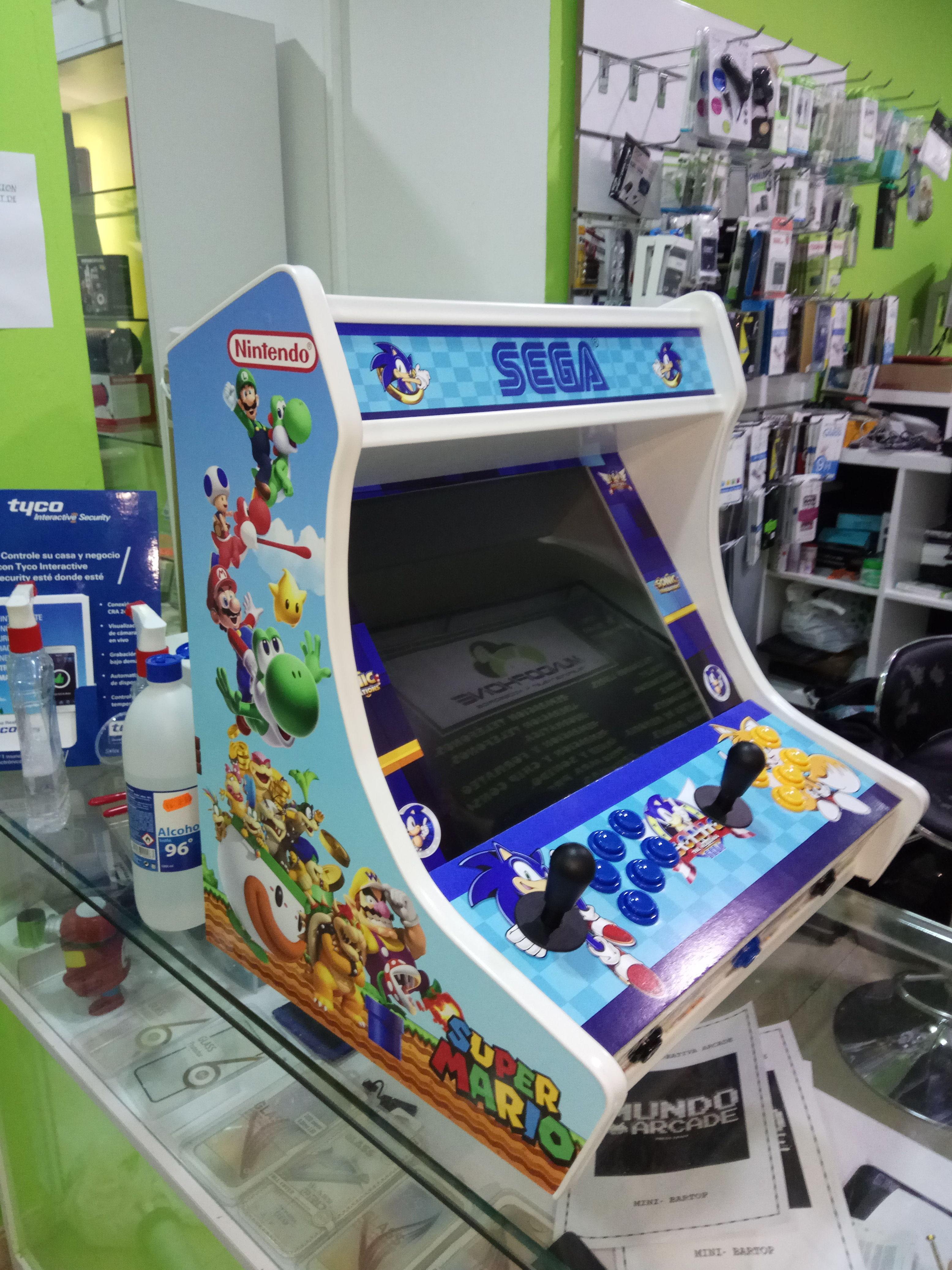 Venta y reparación de máquinas bartop arcade