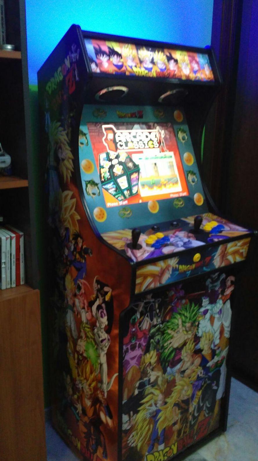 Venta y reparación de máquinas arcade