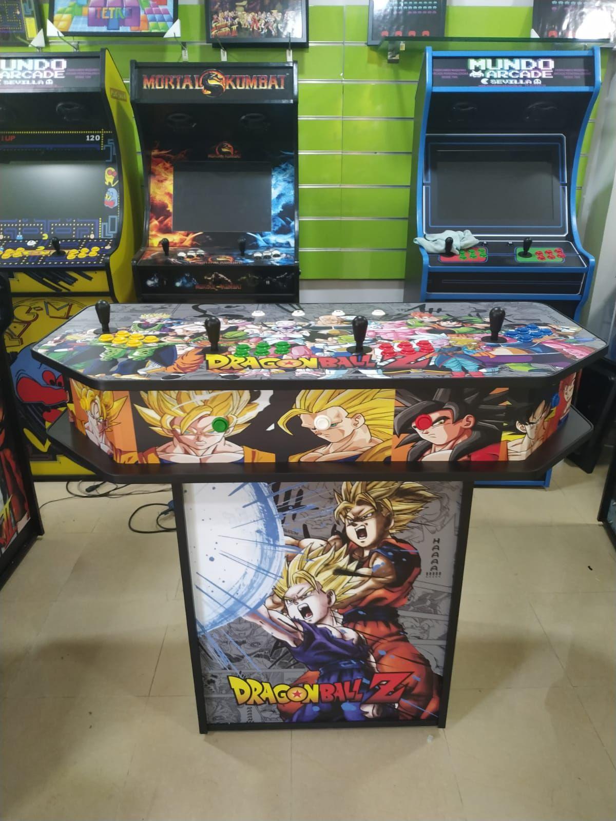 Catalogo Completo: Maquinas Recreativas de Mundo Arcade Sevilla