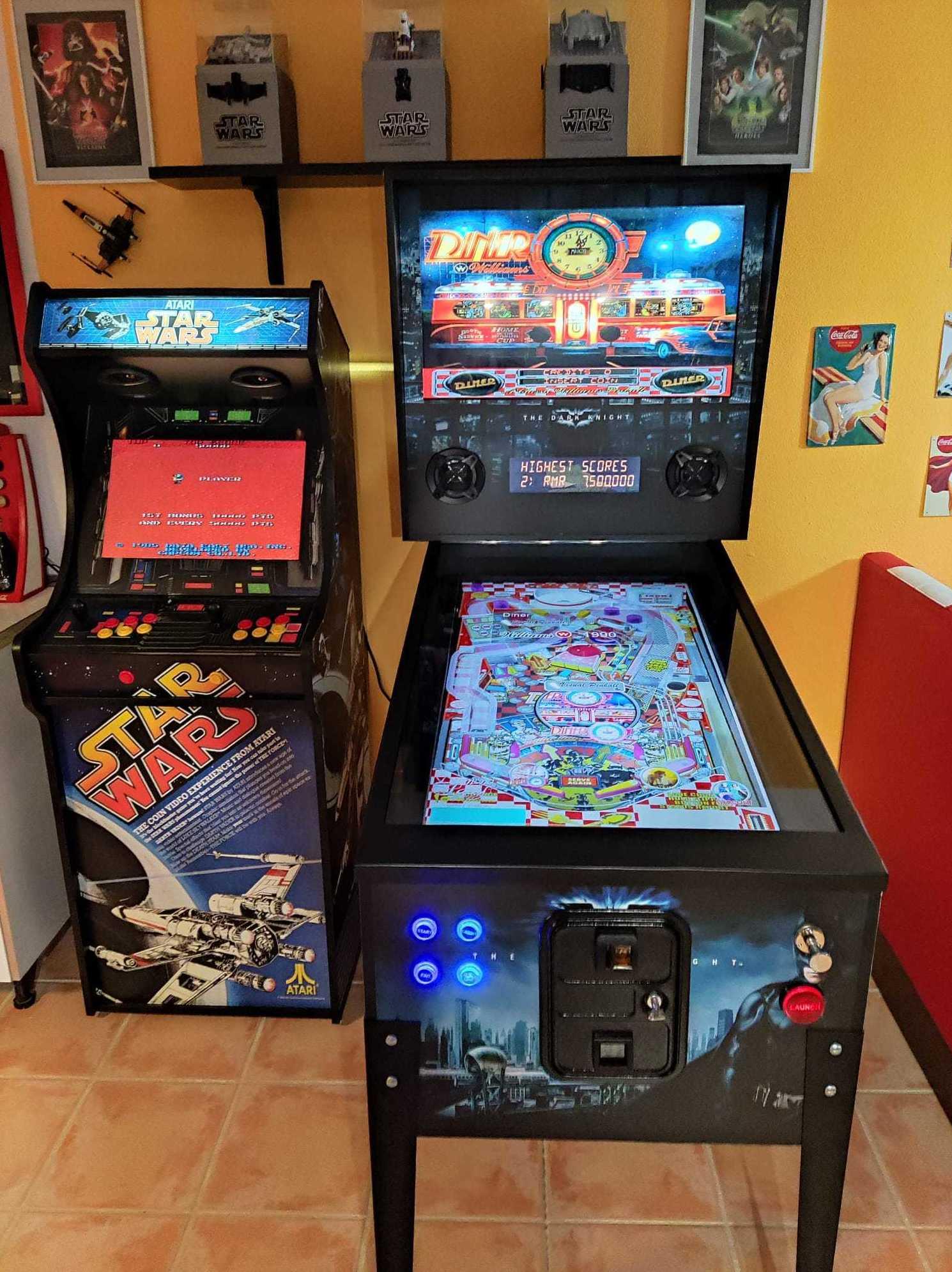 Pinball Virtual: Maquinas Recreativas/Pinball de Mundo Arcade Sevilla