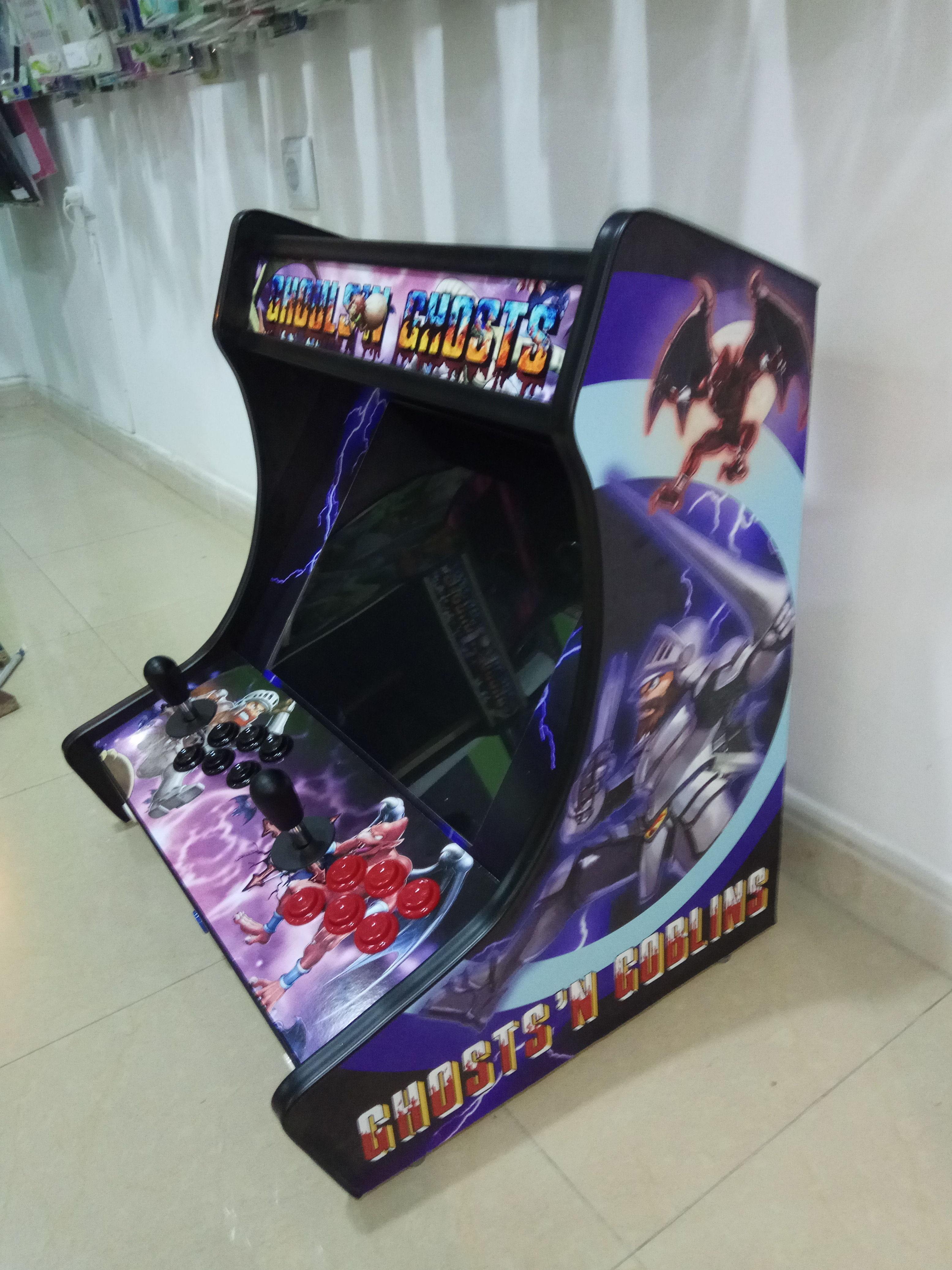 Máquinas bartop arcade