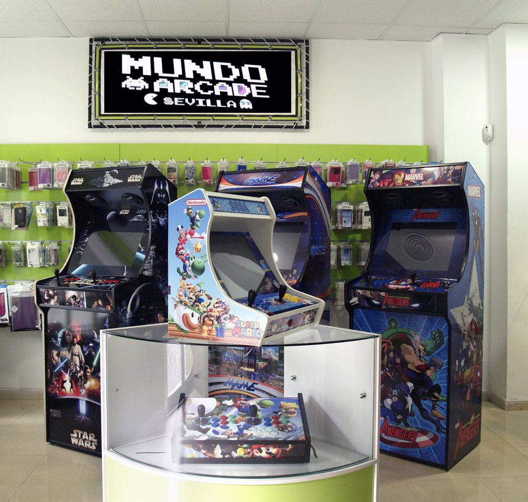 Fabricantes Máquinas Arcade