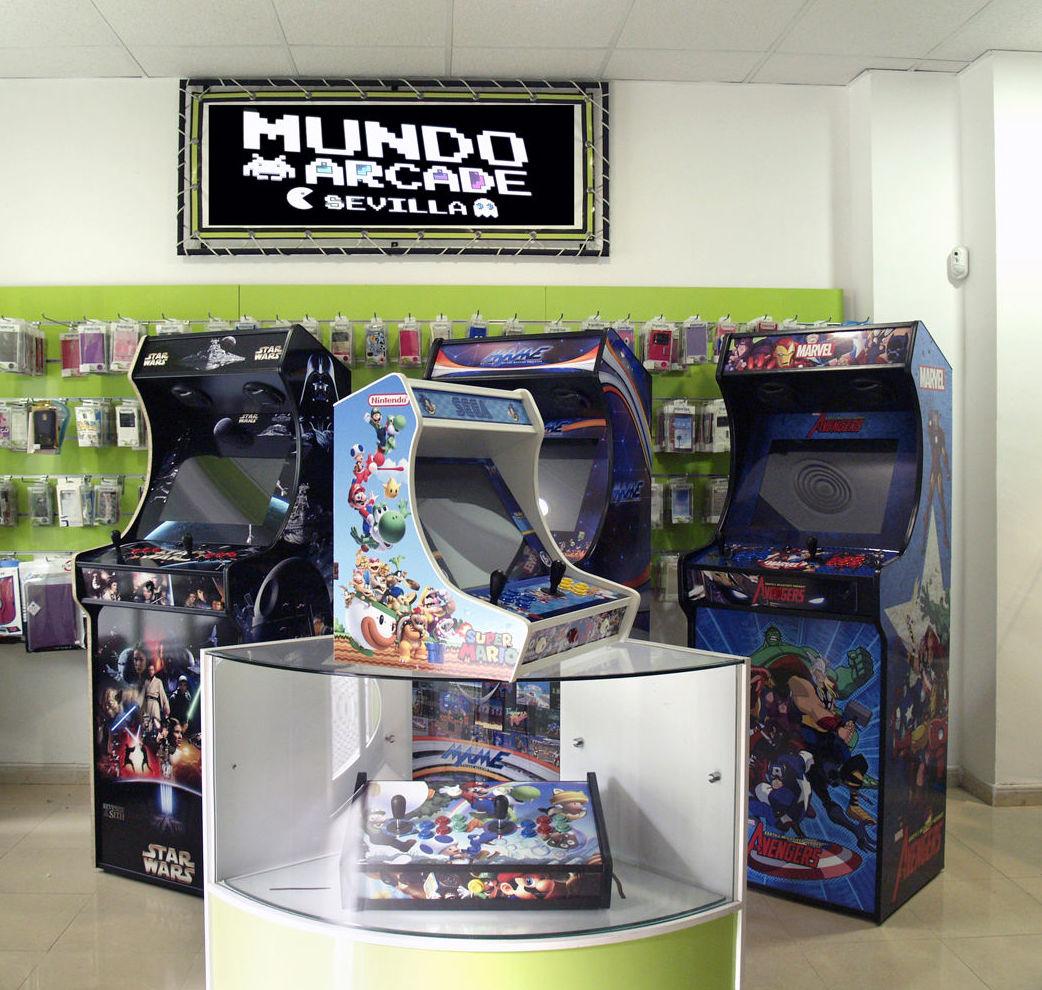 Máquinas Arcade en Sevilla