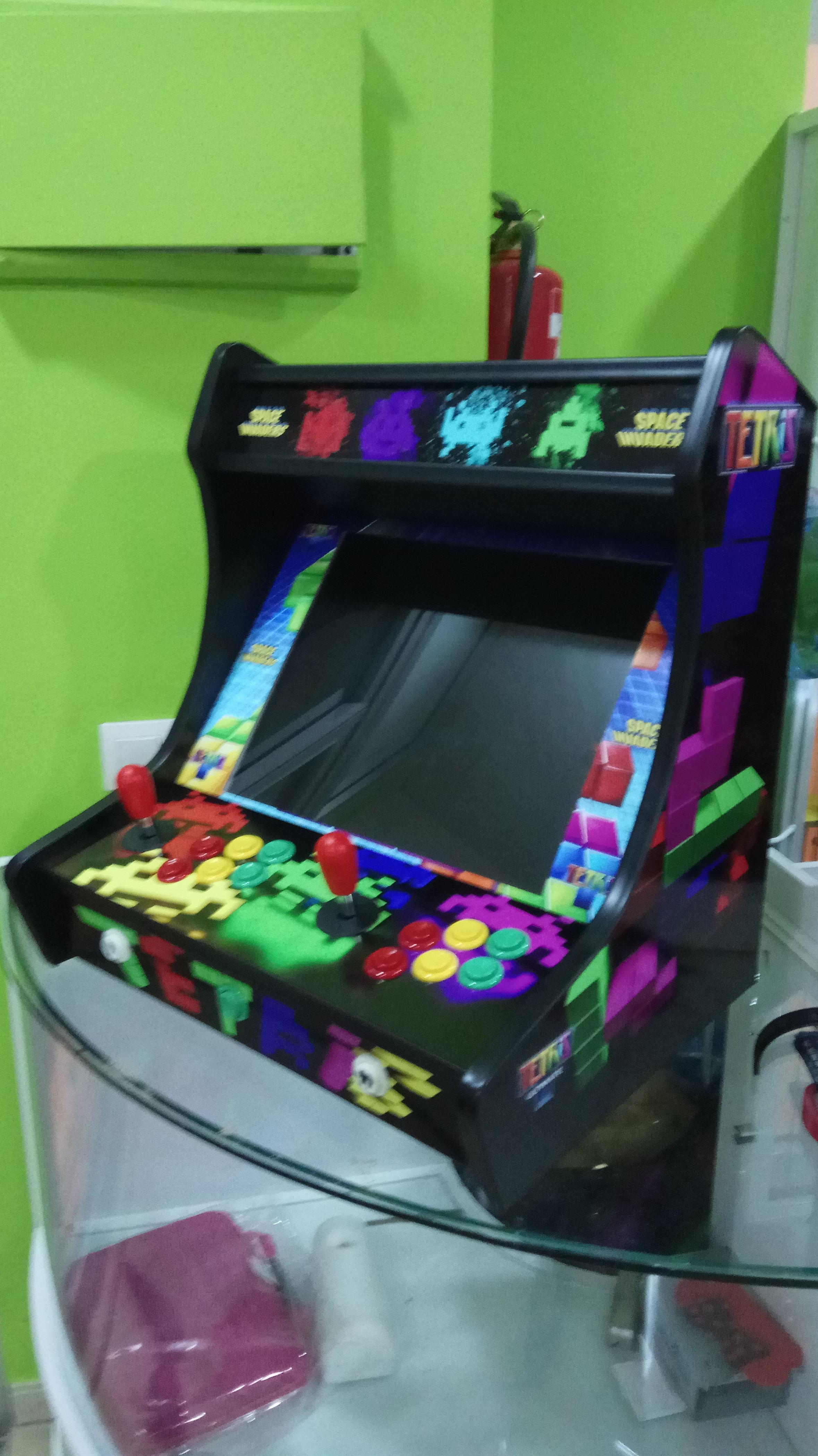 Máquinas arcade, consolas arcade y máquinas bartop arcade